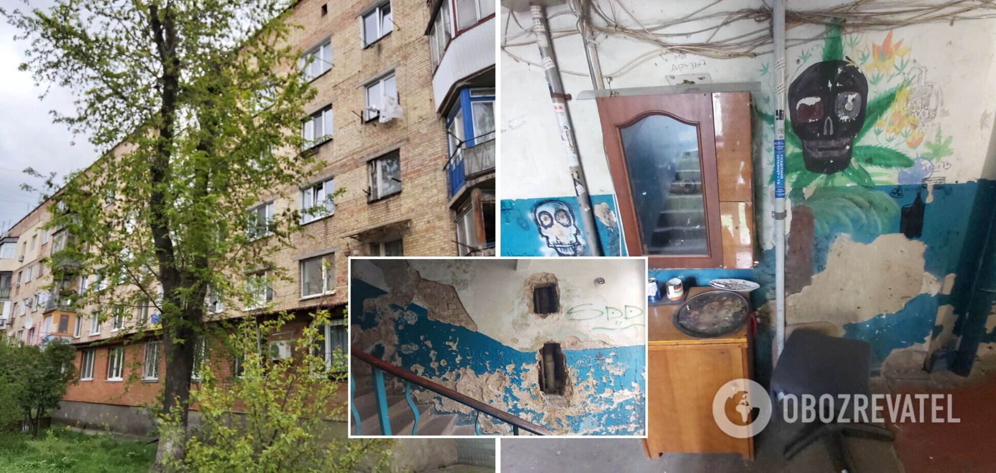 Пораженный грибком дом в Киеве 'убивает' своих жильцов: когда люди получат новые квартиры. Фото, видео
