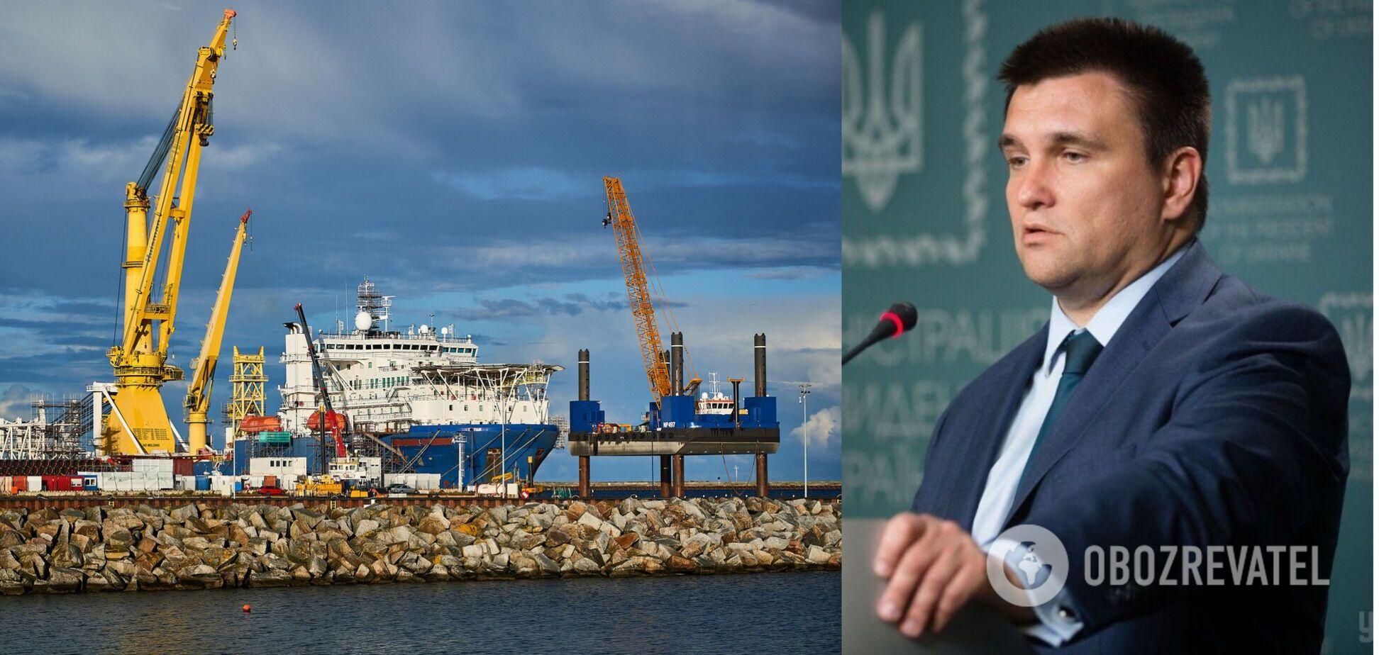 Клімкін – про скасування США санкцій проти 'ПП-2': це був удар під дихало Україні, у Кремля розв'язані руки