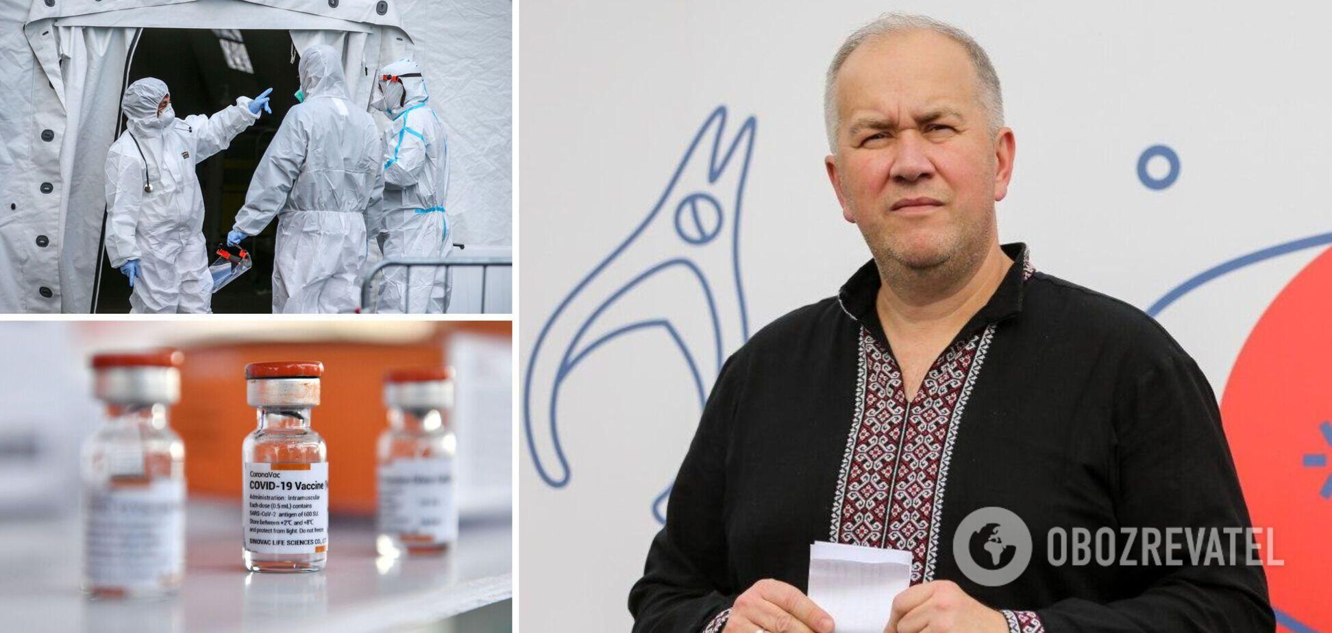 Курпита: вакцинация – это надолго, но сделать уколы 5 млн украинцев за лето реально