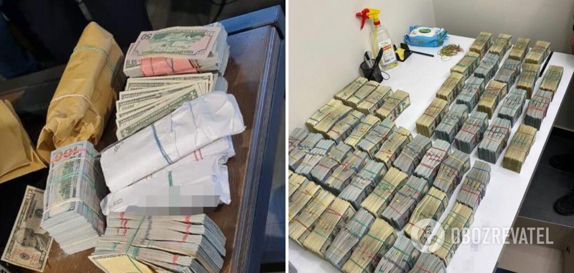 У задержанных воров в законе нашли $3,2 млн 'общака'. Фото