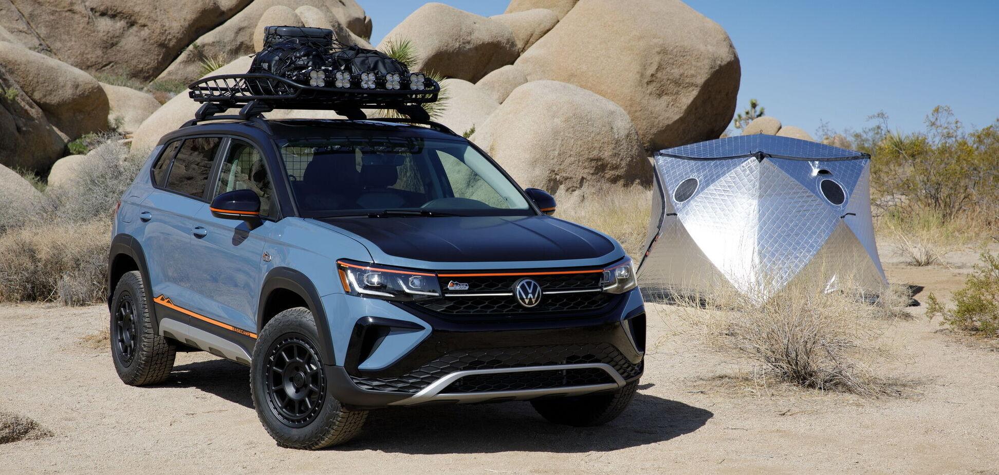 Volkswagen представил концепт Taos Basecamp для туристов