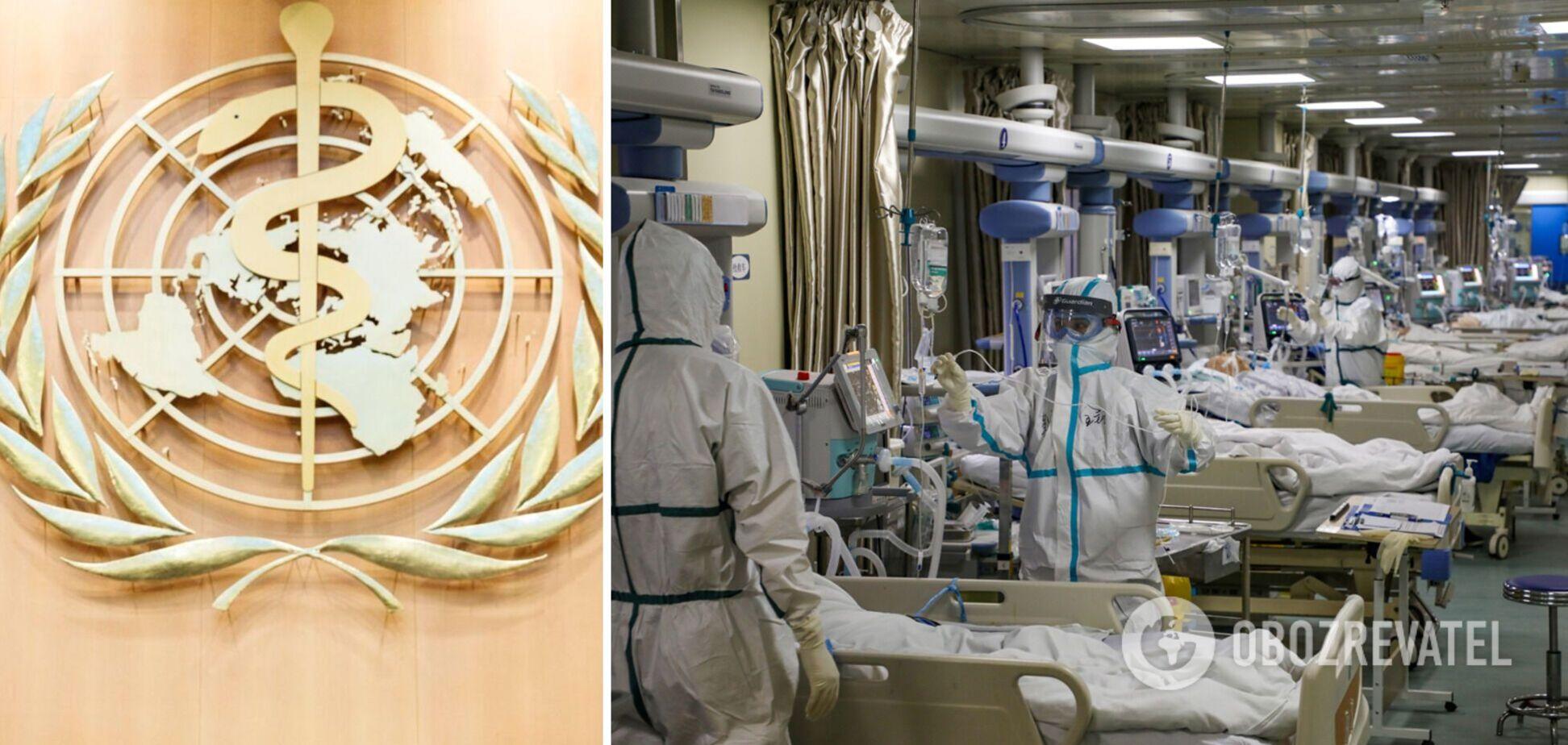 ВООЗ: коронавірус забрав утричі більше життів, ніж свідчить статистика