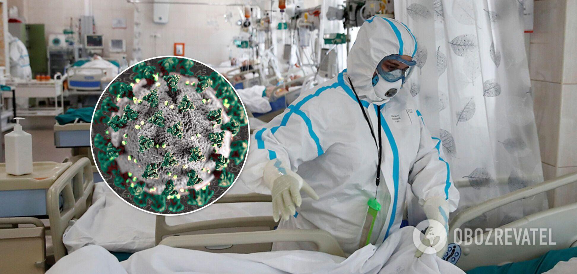 В Украине за сутки госпитализировали более 1,5 тыс. пациентов с COVID-19: где меньше всего мест
