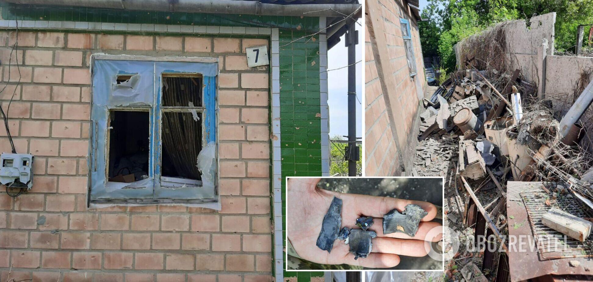 Войска РФ обстреляли дома мирных жителей на Донбассе. Фото