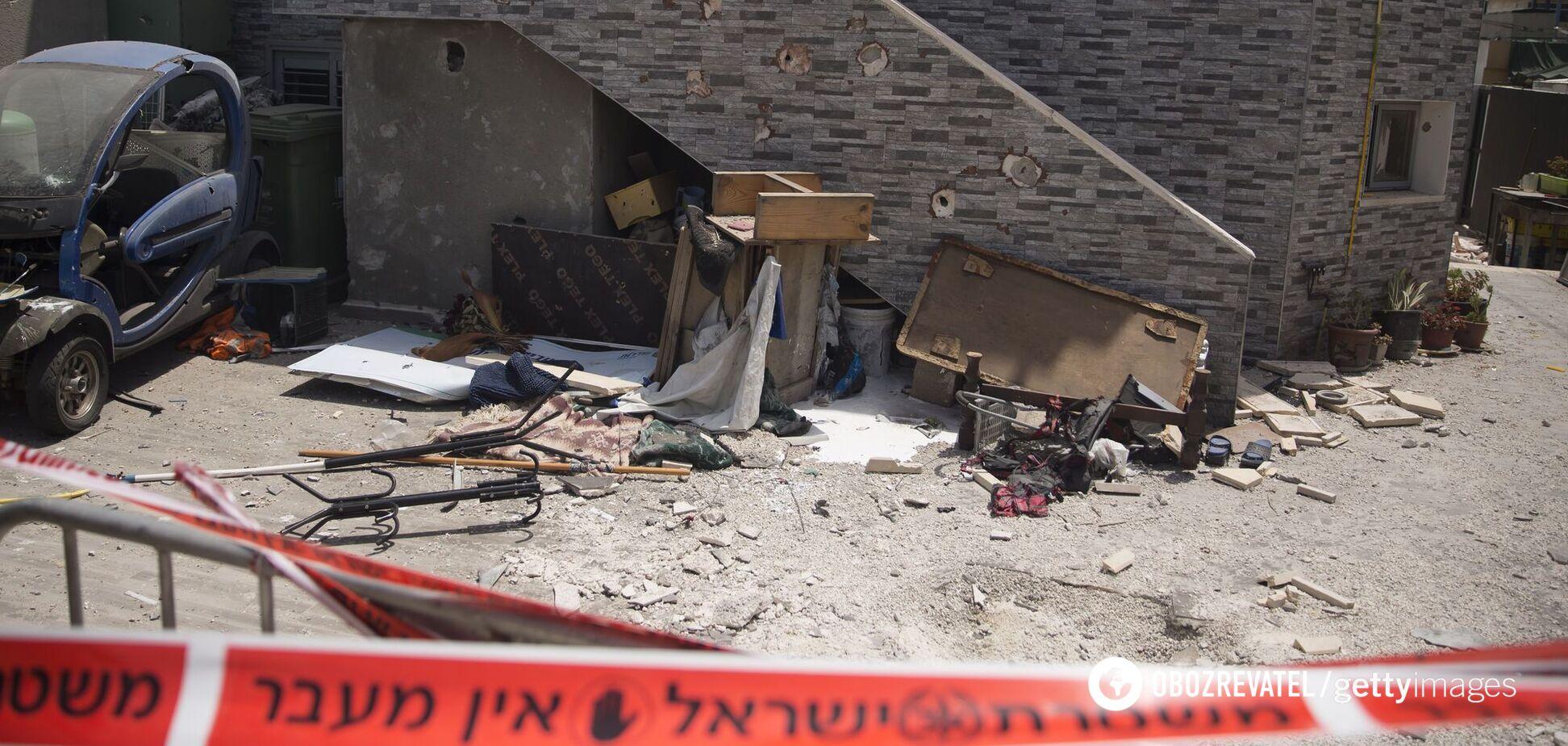 В Израиле озвучили сумму ущерба от ракетных обстрелов из Газы