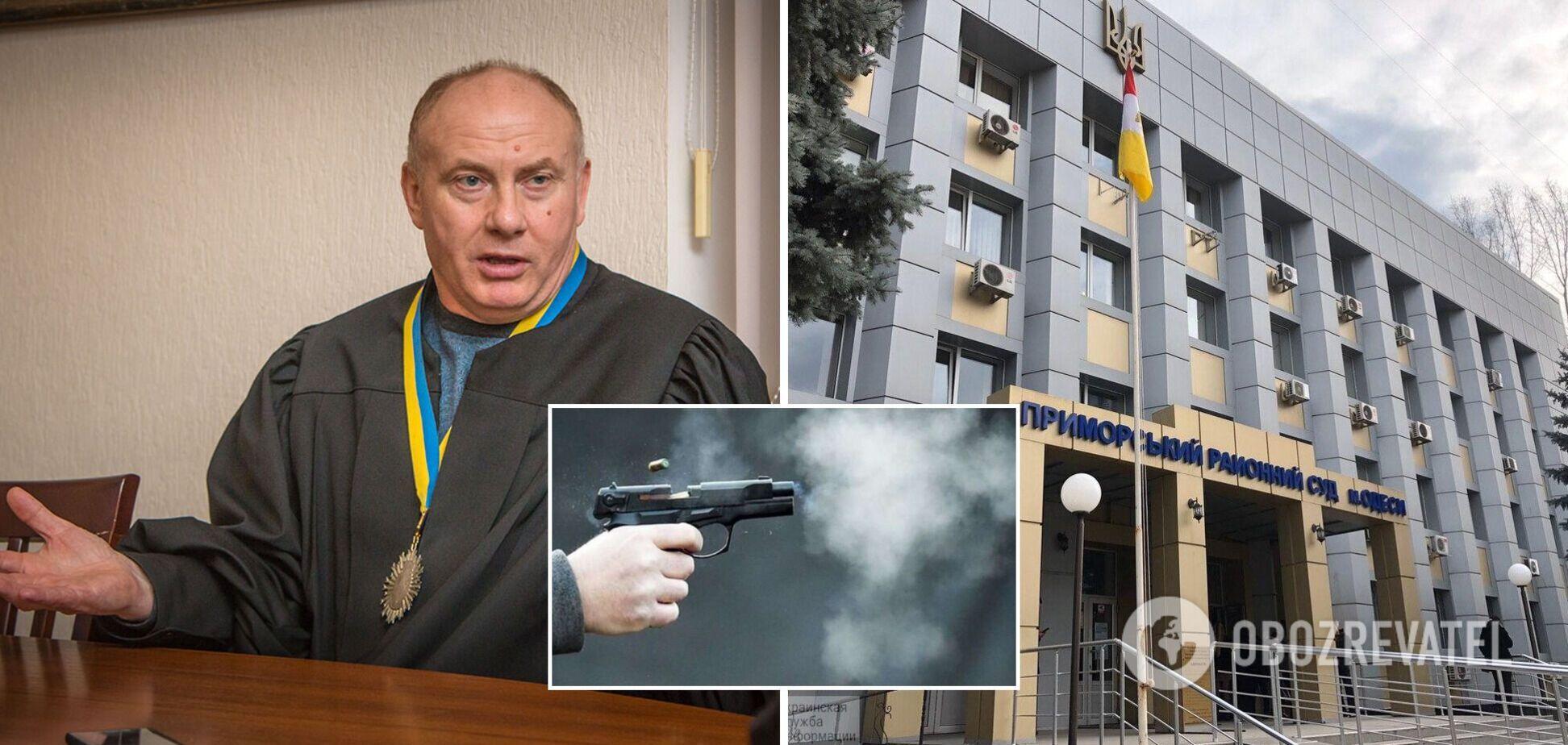 Голова суду в Одесі, який розглядає справу Стерненка, заявив про обстріл свого кабінету