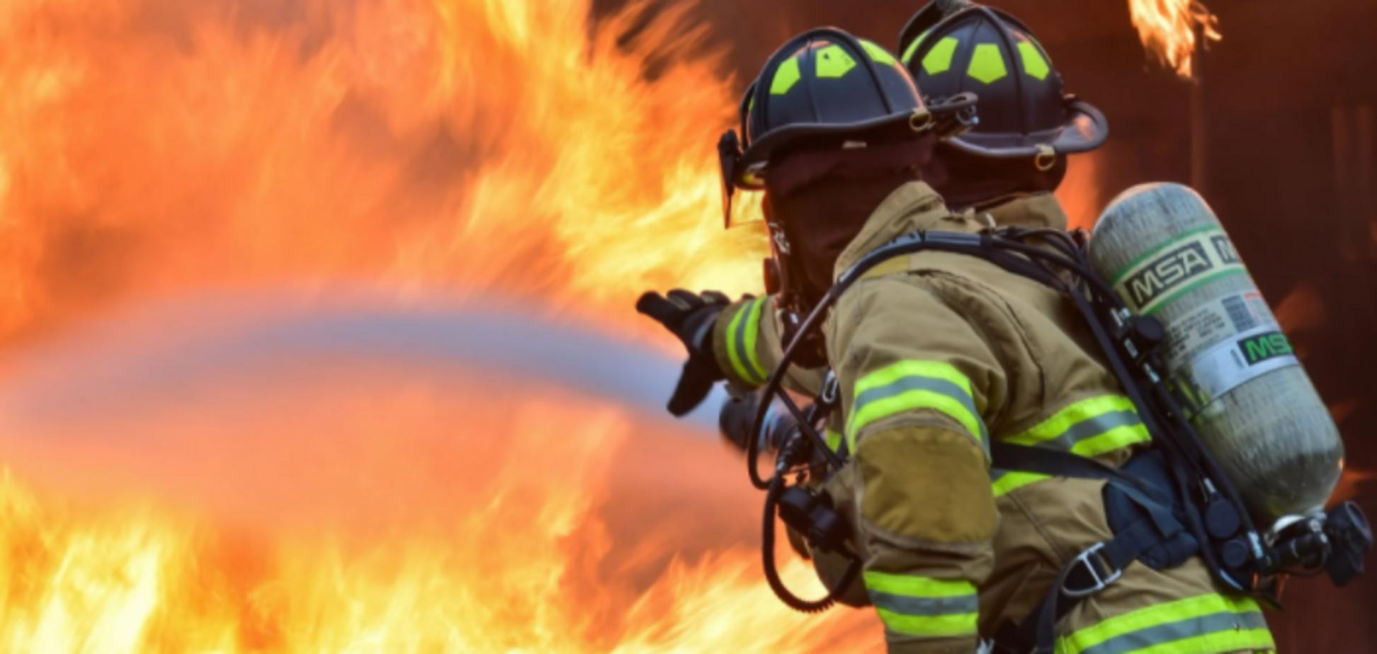В России при масштабном пожаре погибла семья с четырьмя детьми