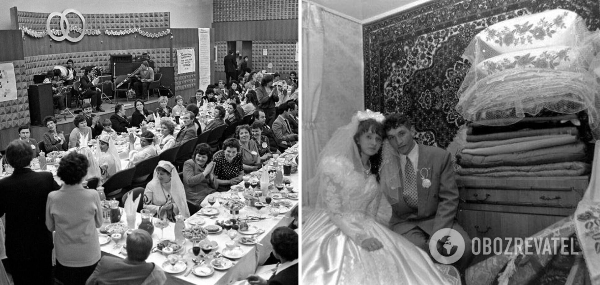 В сети показали, как выглядели свадьбы в СССР. Фото