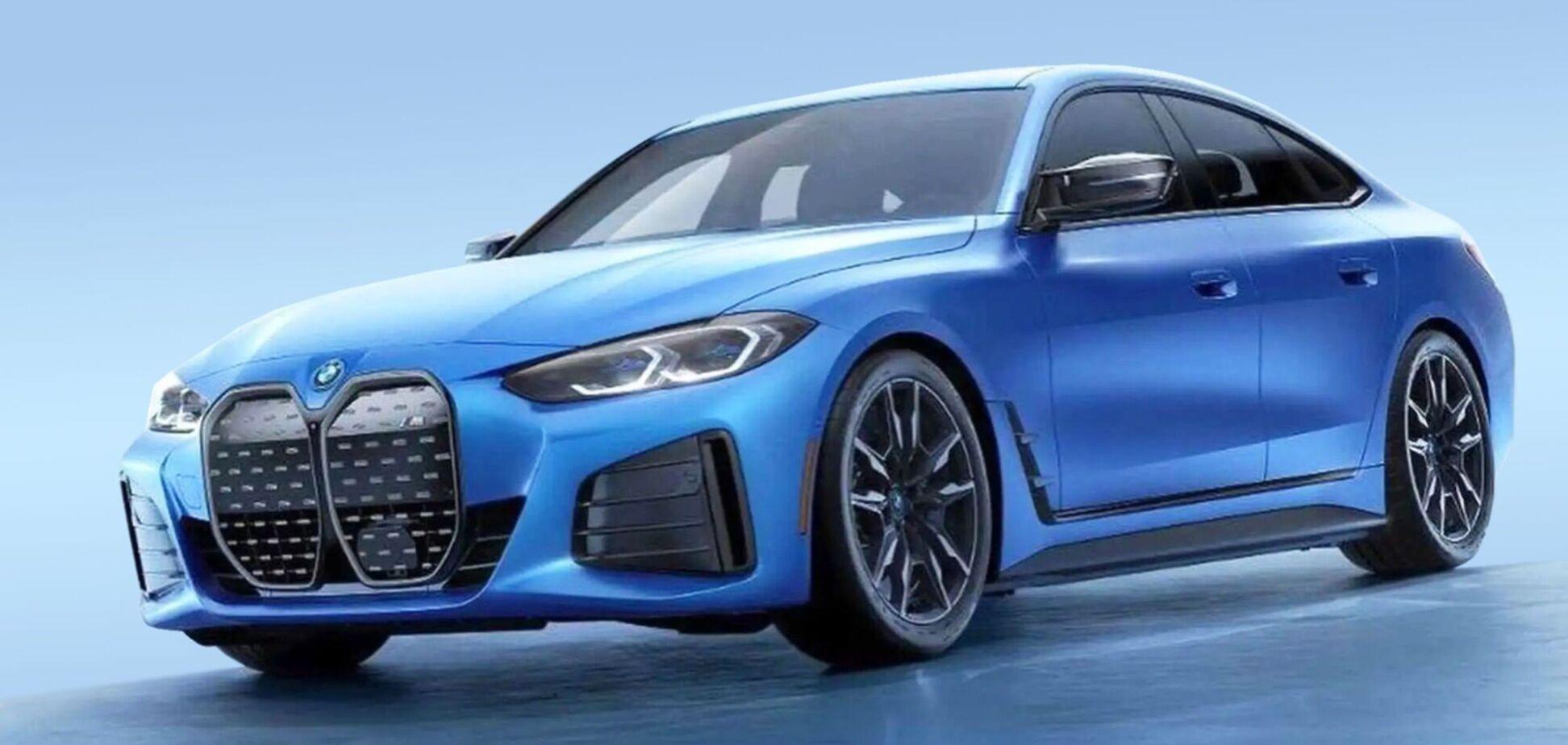 BMW готує спортивну версію електроседана i4 M50