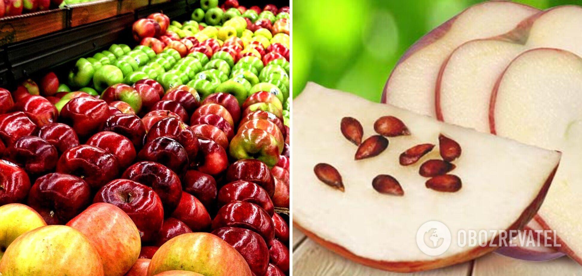 Яблука можуть бути небезпечні: як не отруїтися фруктом