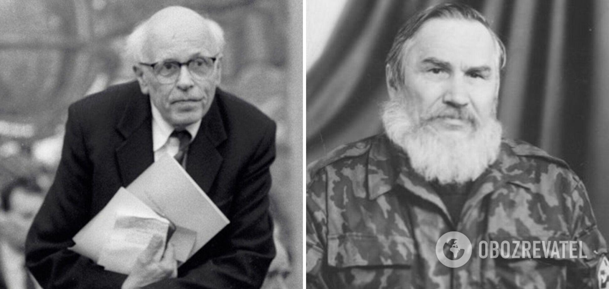 Російський демократ Андрій Сахаров і український націоналіст Анатоль Лупиніс