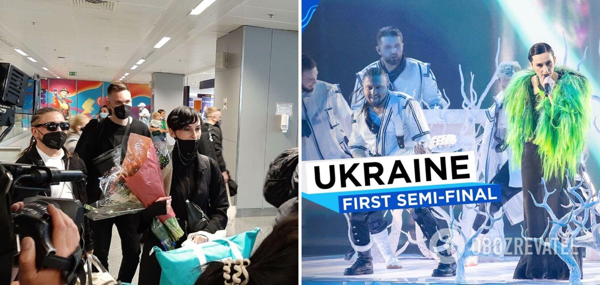 Go_A вернулись с Евровидения 2021, украинцы устроили теплый прием в аэропорту: фото и видео