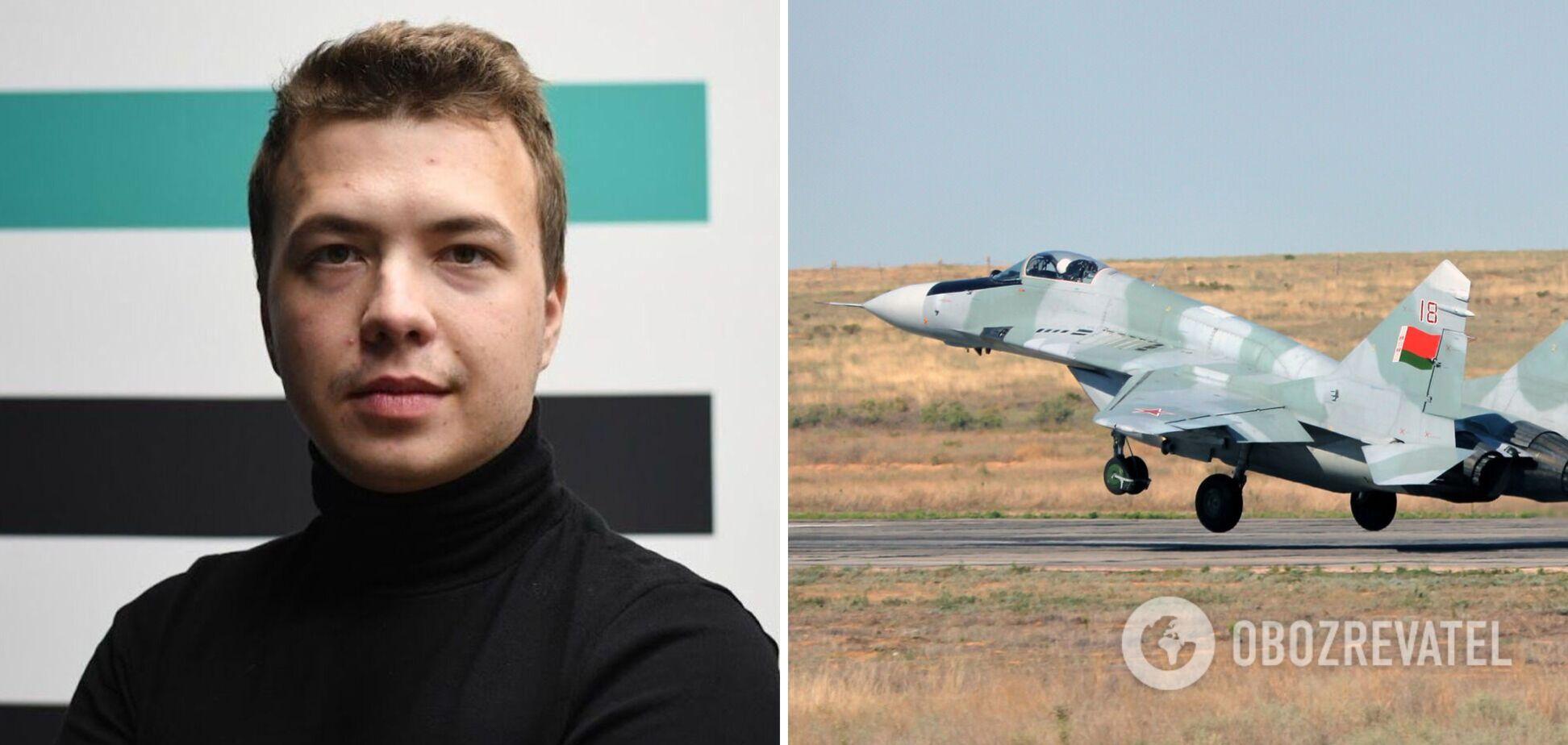 Літак із Протасевичем дозволяли збити винищувачем, – Лукашевич