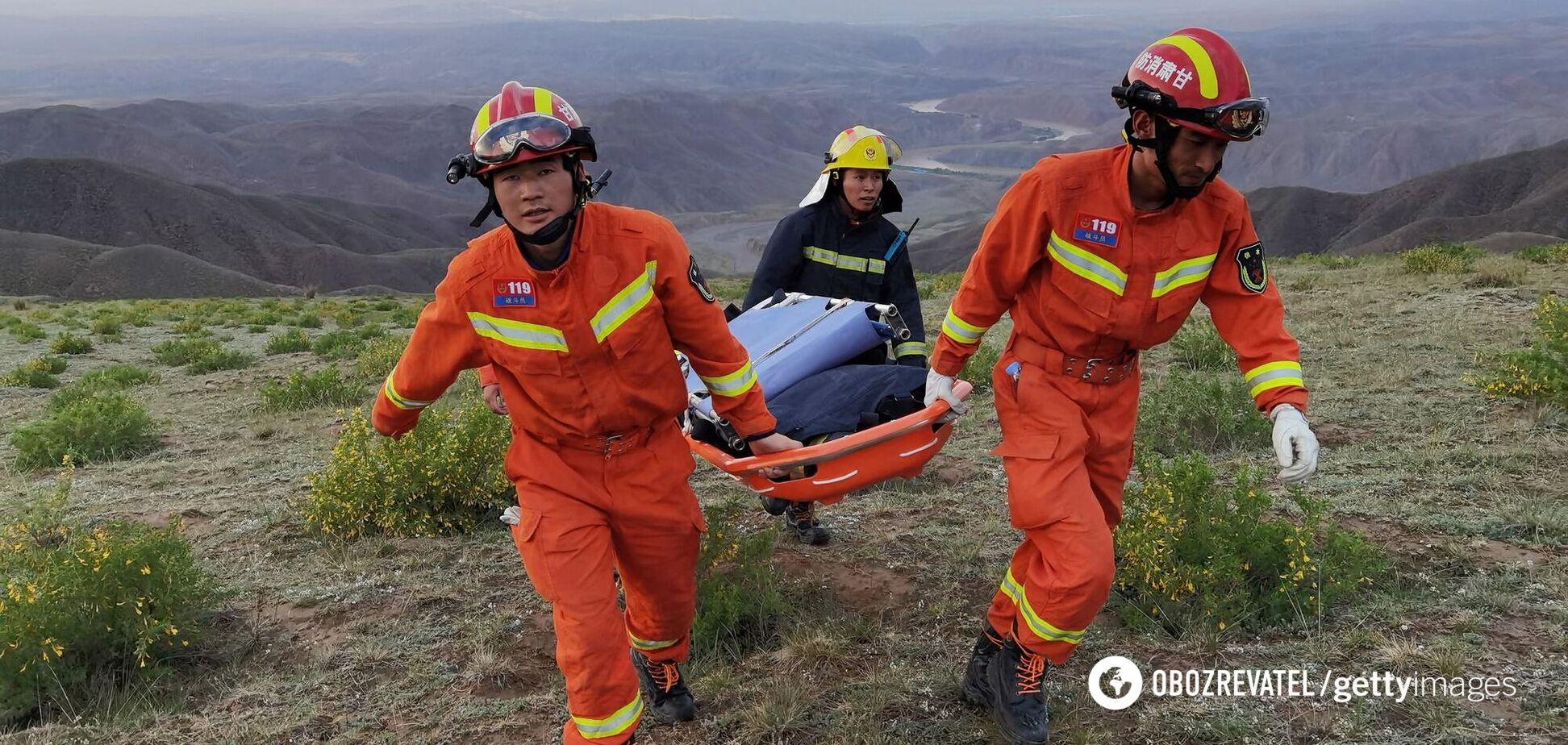 Рятувальники в Китаї