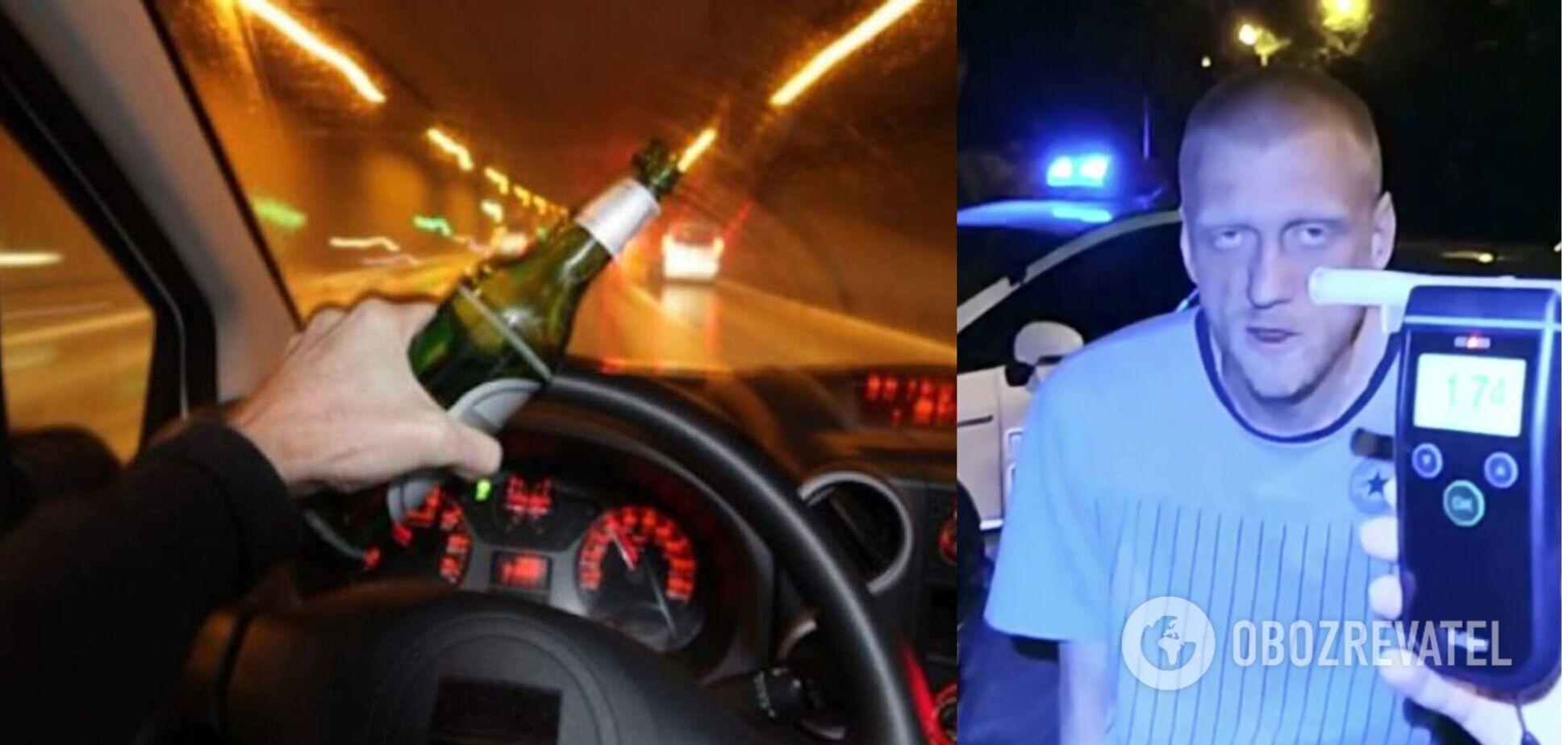 В Киеве пьяный водитель насмерть сбил женщину. Видео с места ДТП