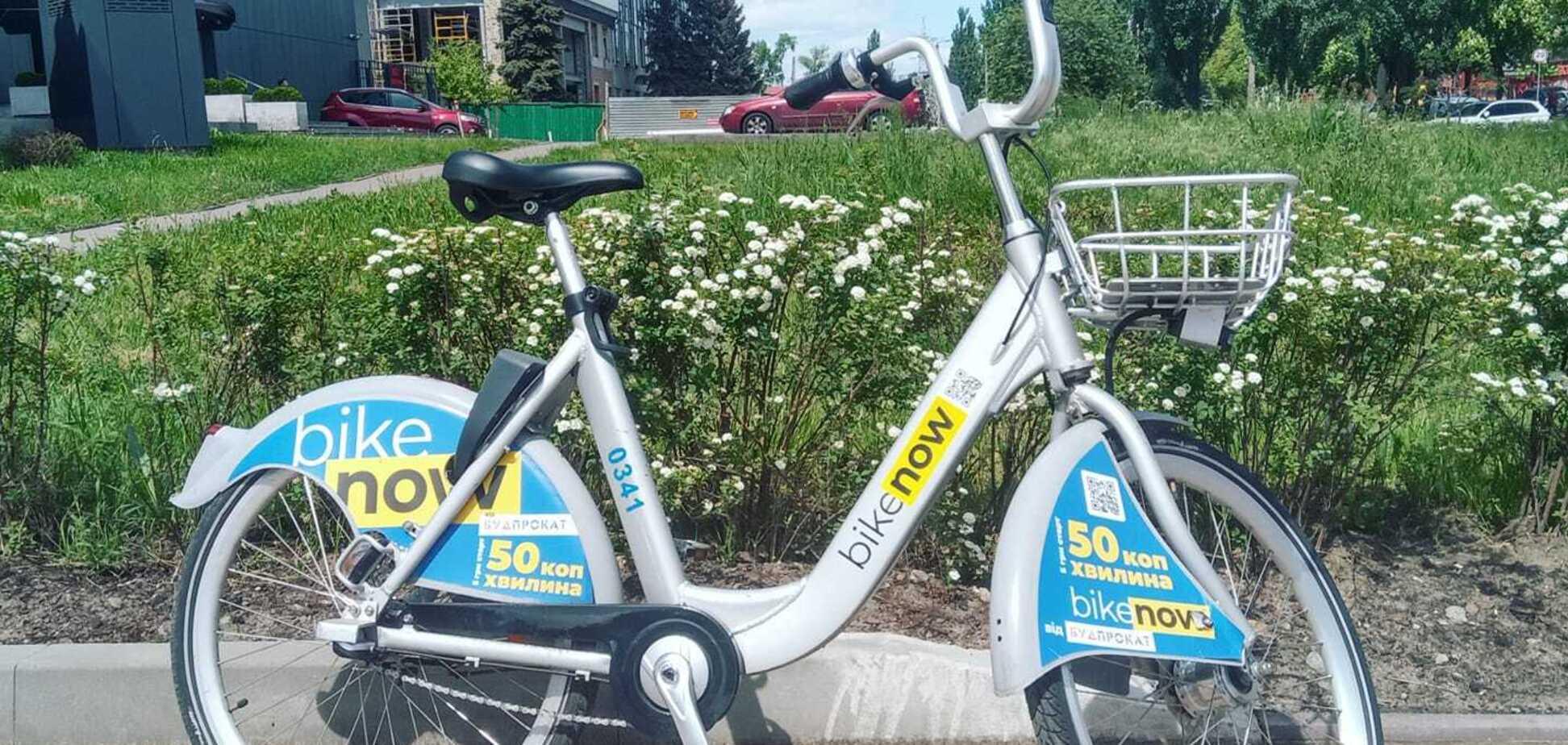У Києві через постійні крадіжки закрили пункт велопрокату біля станції метро 'Видубичі'