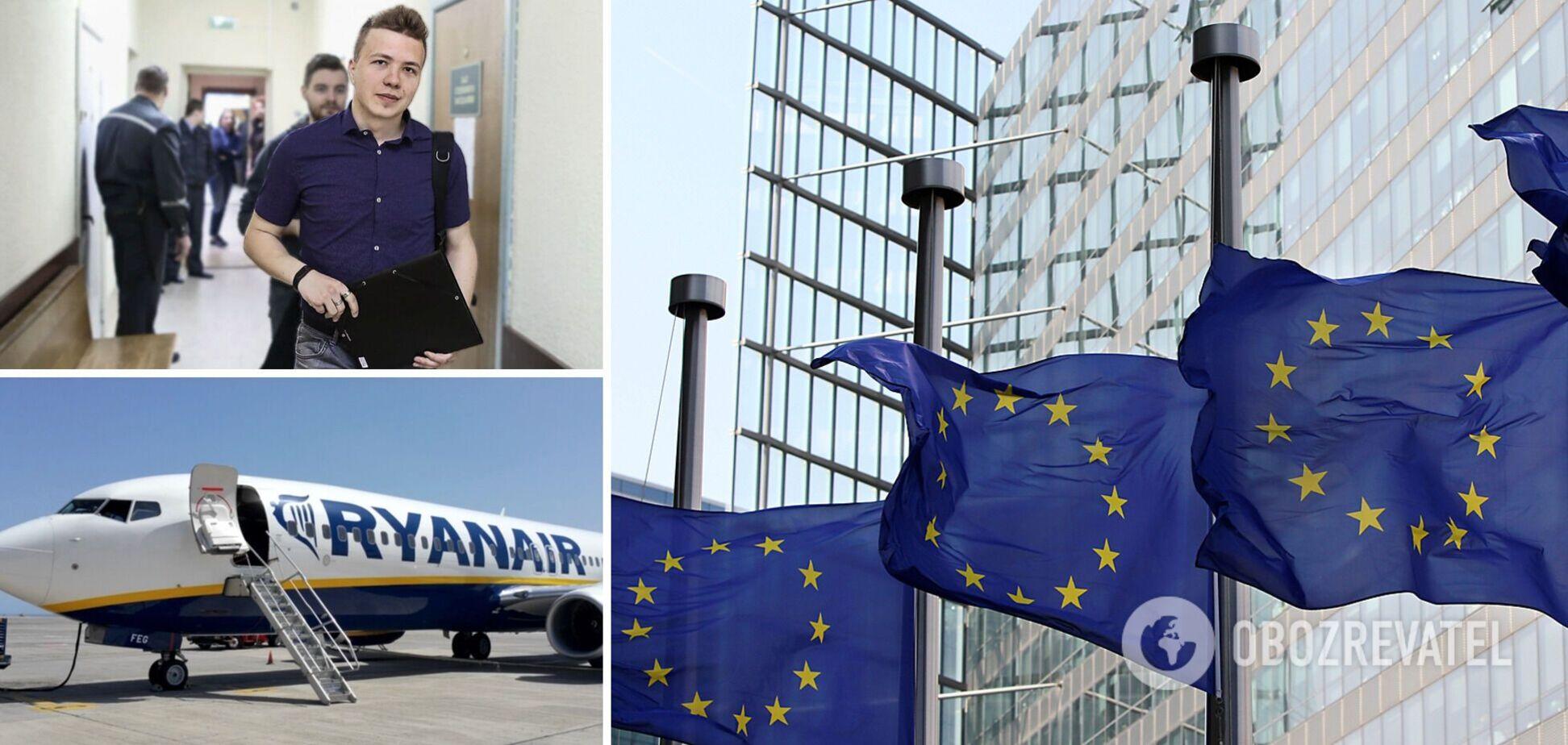 ЕС заморозил €3 млрд помощи Минску и запретил полеты белорусских авиакомпаний