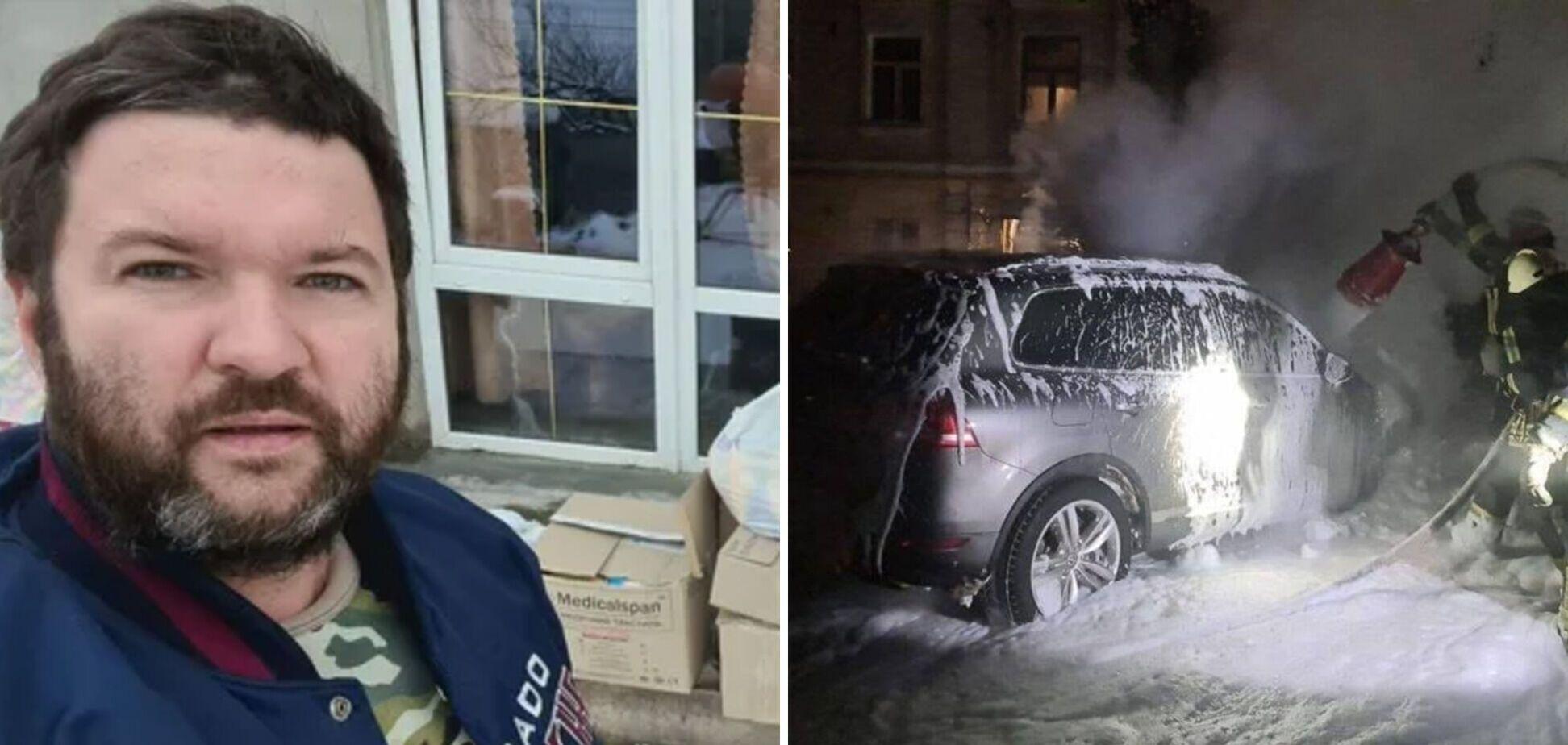 Правоохоронці знайшли підпалювача автівки київського блогера Влада Антонова
