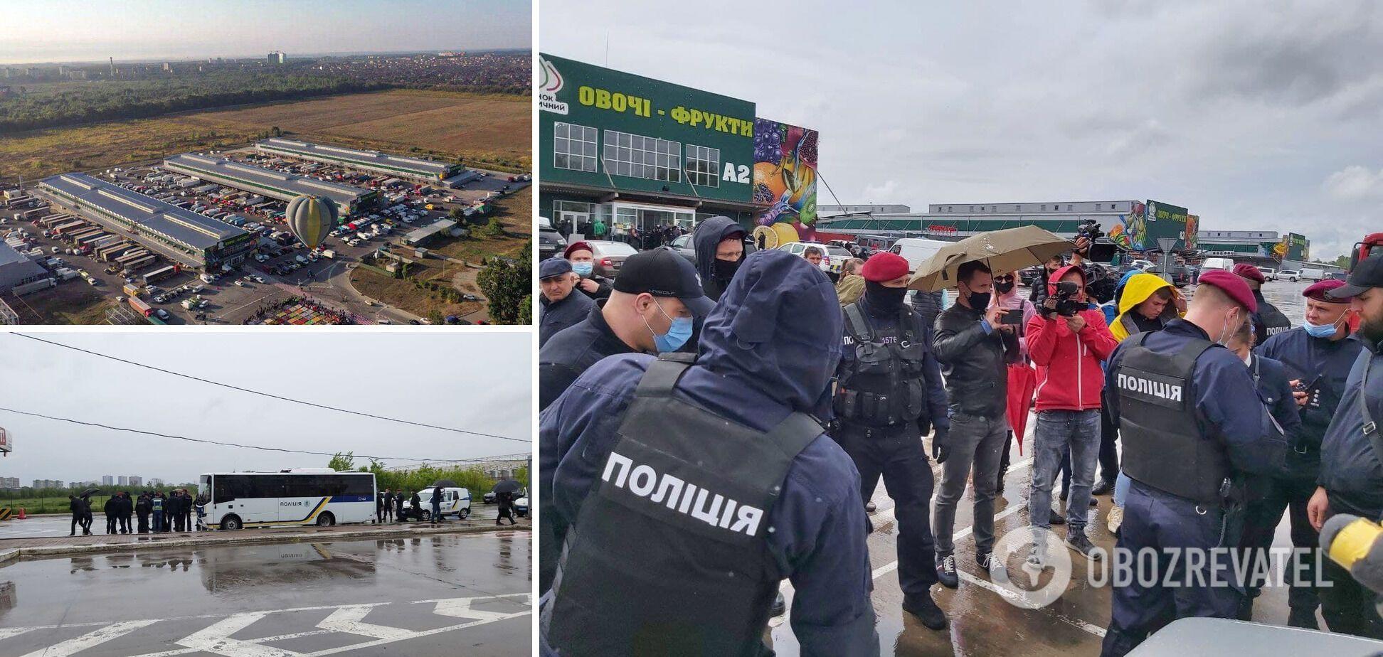 'Титушки', взрывы и депутатская 'крыша': как рейдерили рынок 'Столичный'