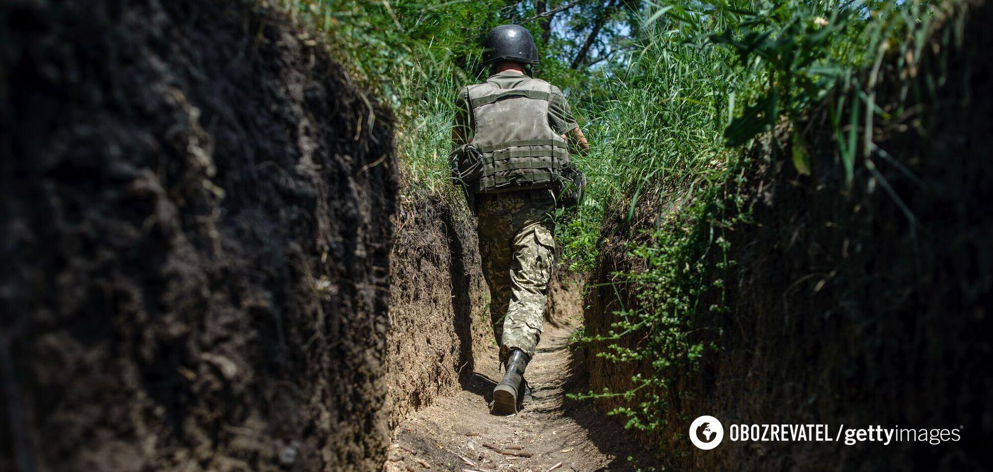 Окупанти обстріляли ВСУ з забороненої зброї і дистанційно підірвали міну – штаб ООС