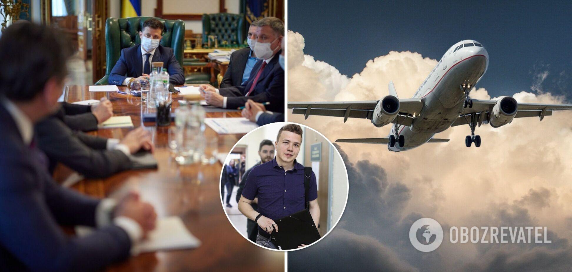Україна припиняє авіасполучення з Білоруссю і забороняє авіакомпаніям літати над її територією