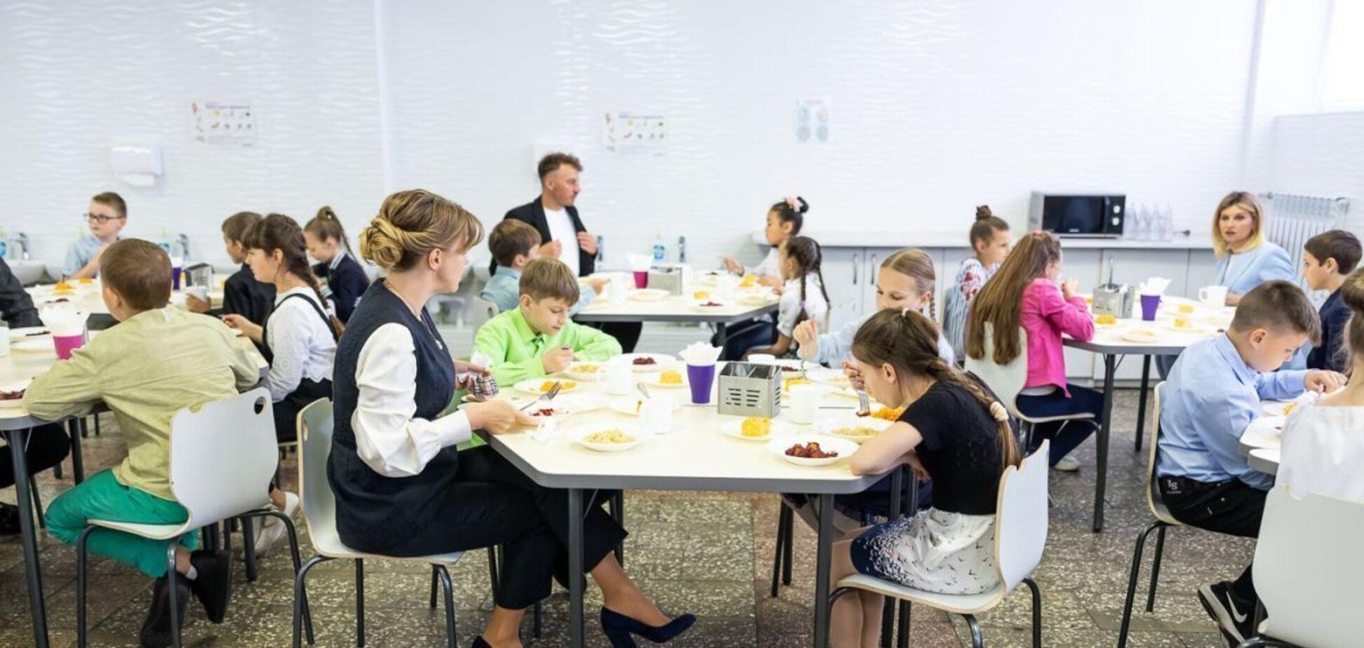 Реформа школьного питания в Украине