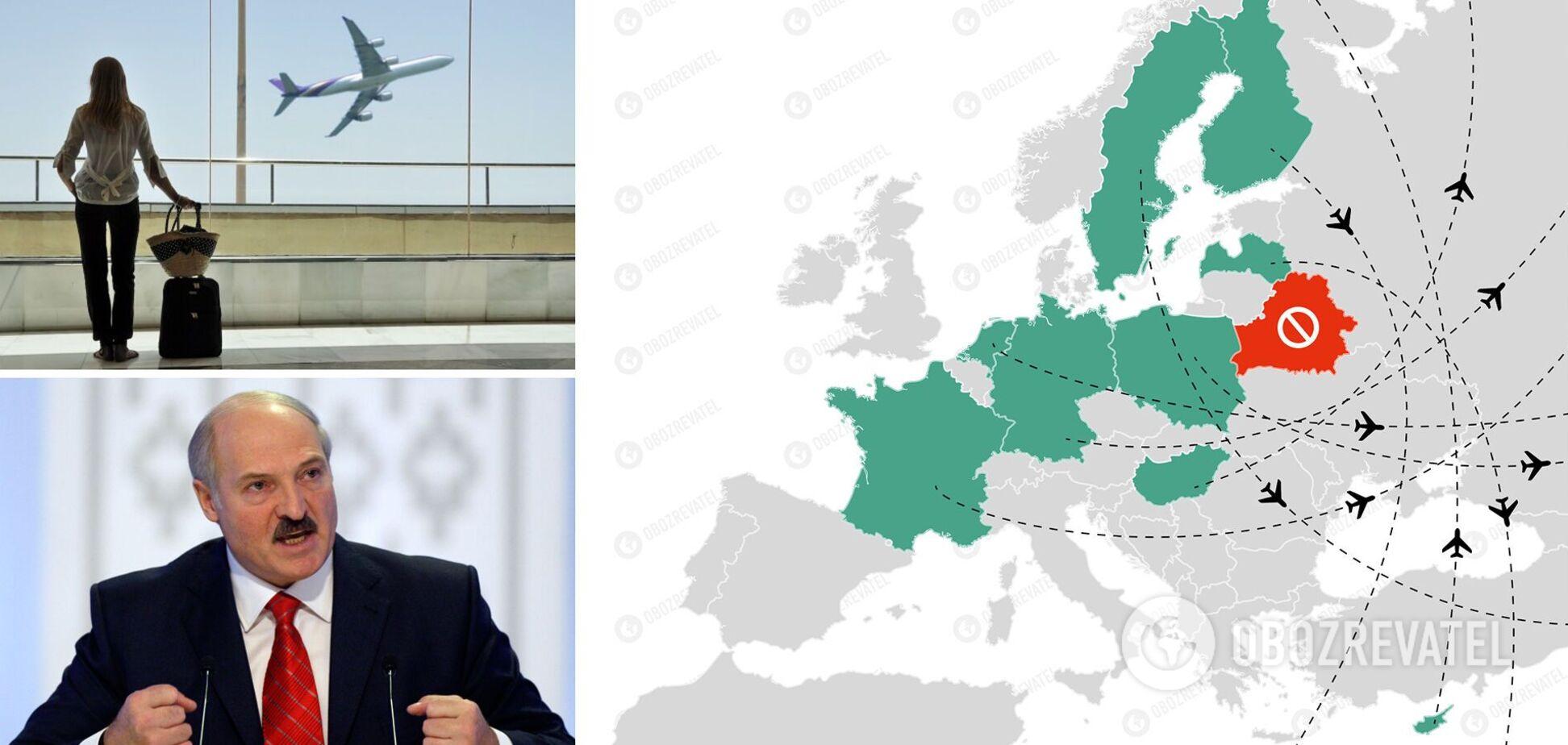 Европа закрывает небо с Беларусью: список пополнился Украиной и еще двумя странами