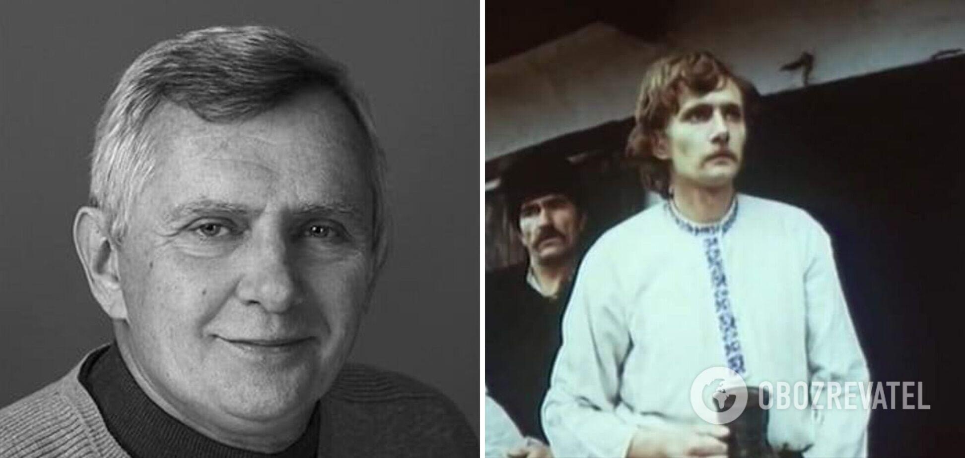 Умер народный артист Украины Ярослав Гаврилюк