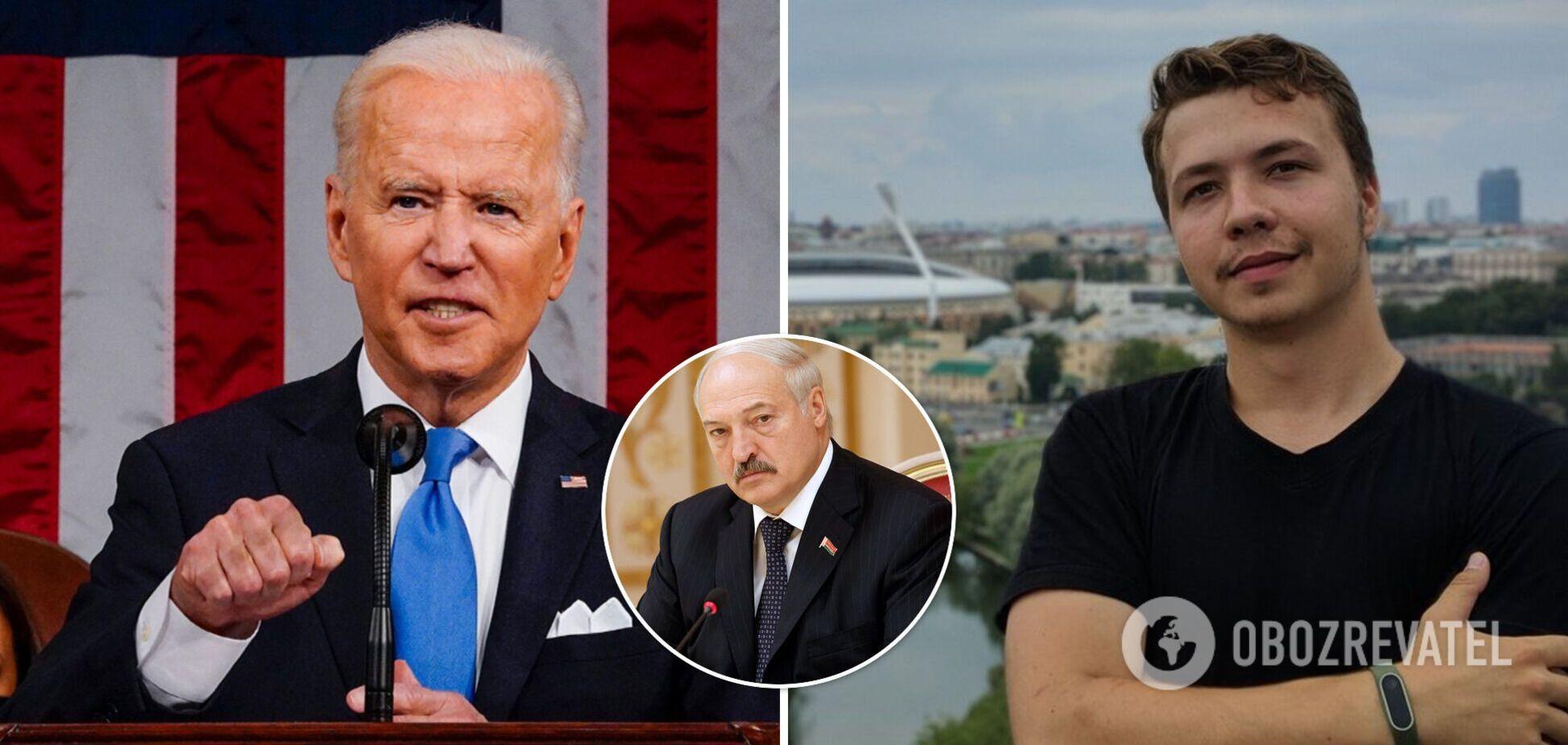 Байден закликав Лукашенка звільнити Протасевича й інших політв'язнів