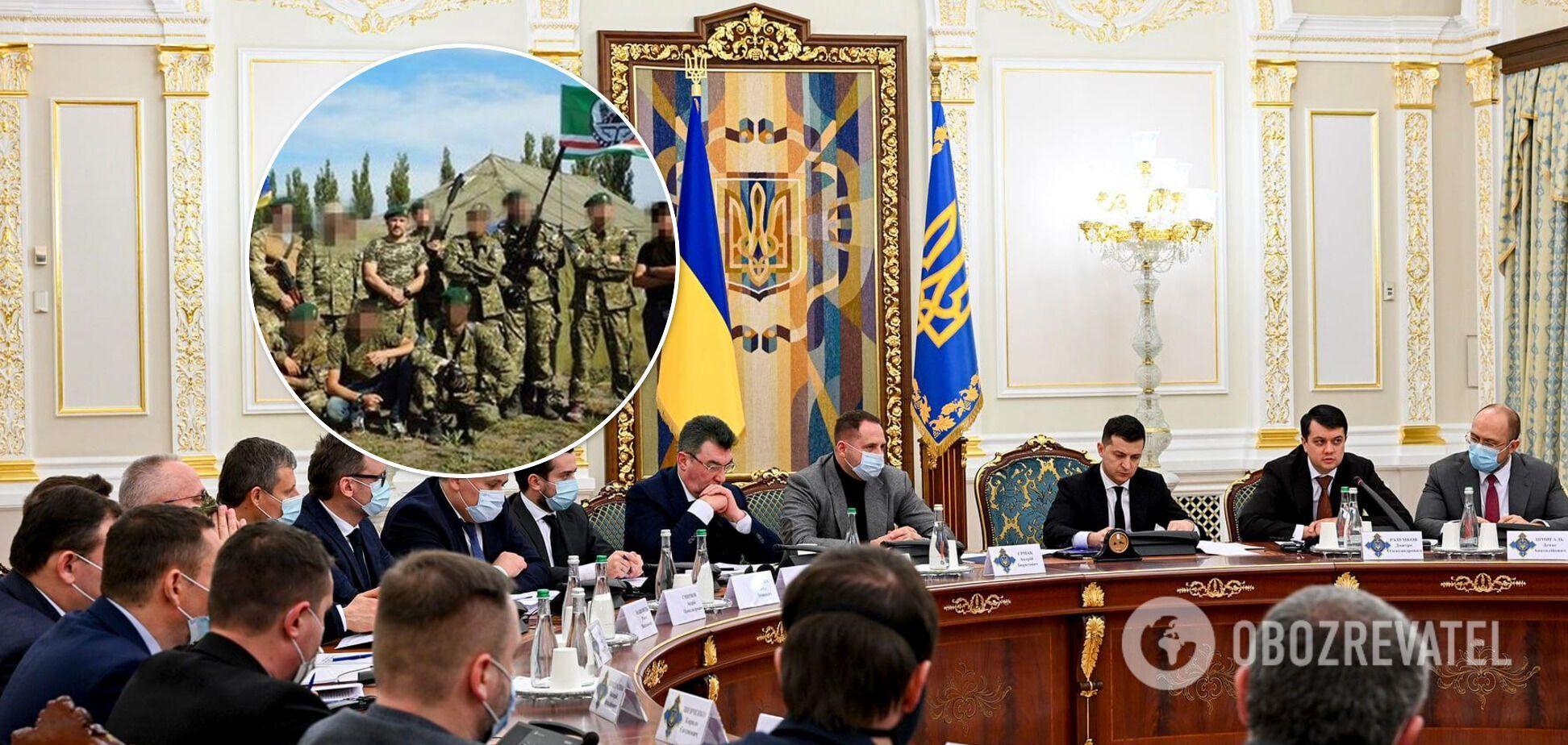 Санкции СНБО: Украина 'сливает' чеченских добровольцев?