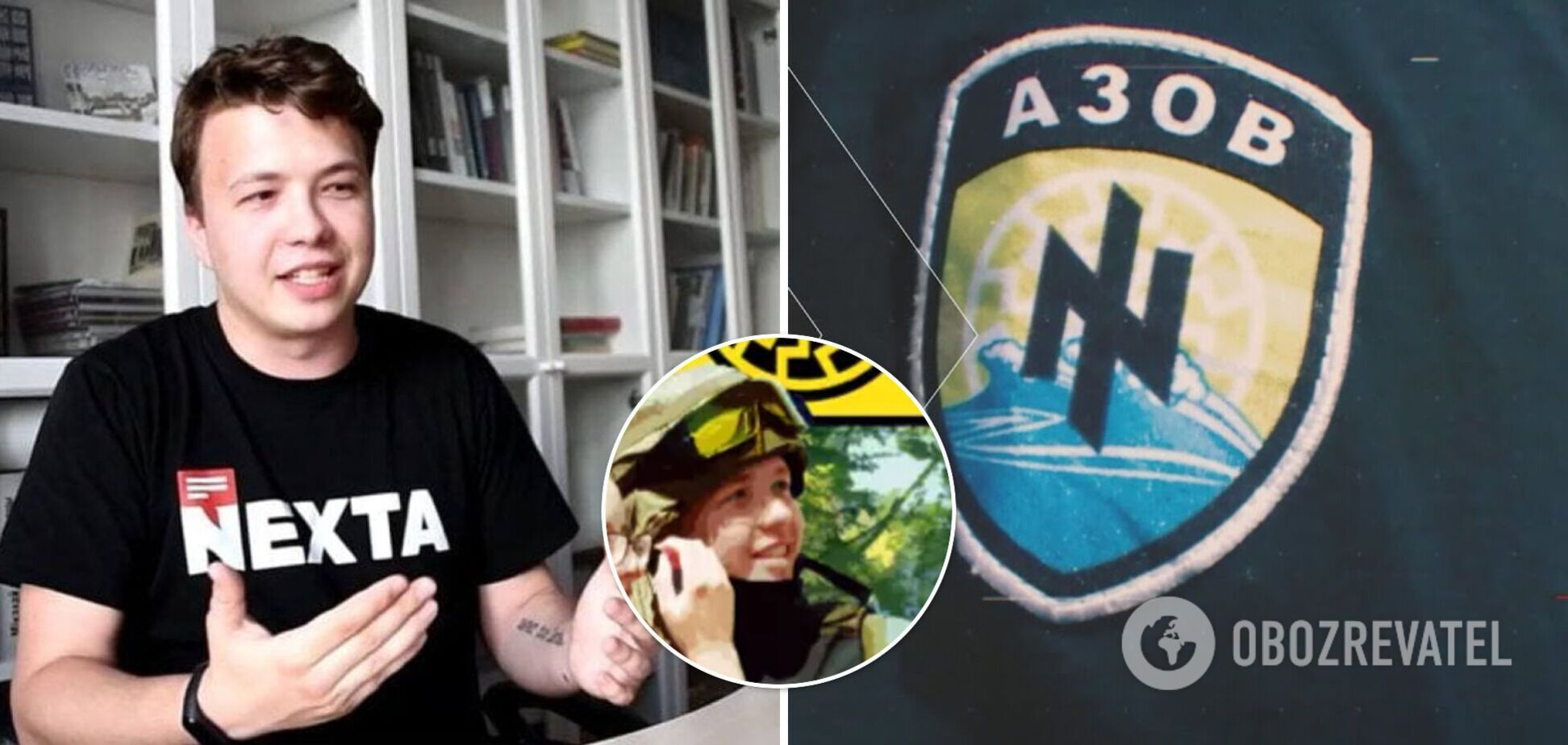 Протасевичу приписали службу в 'Азові' на Донбасі: у Bellingcat розкрили правду