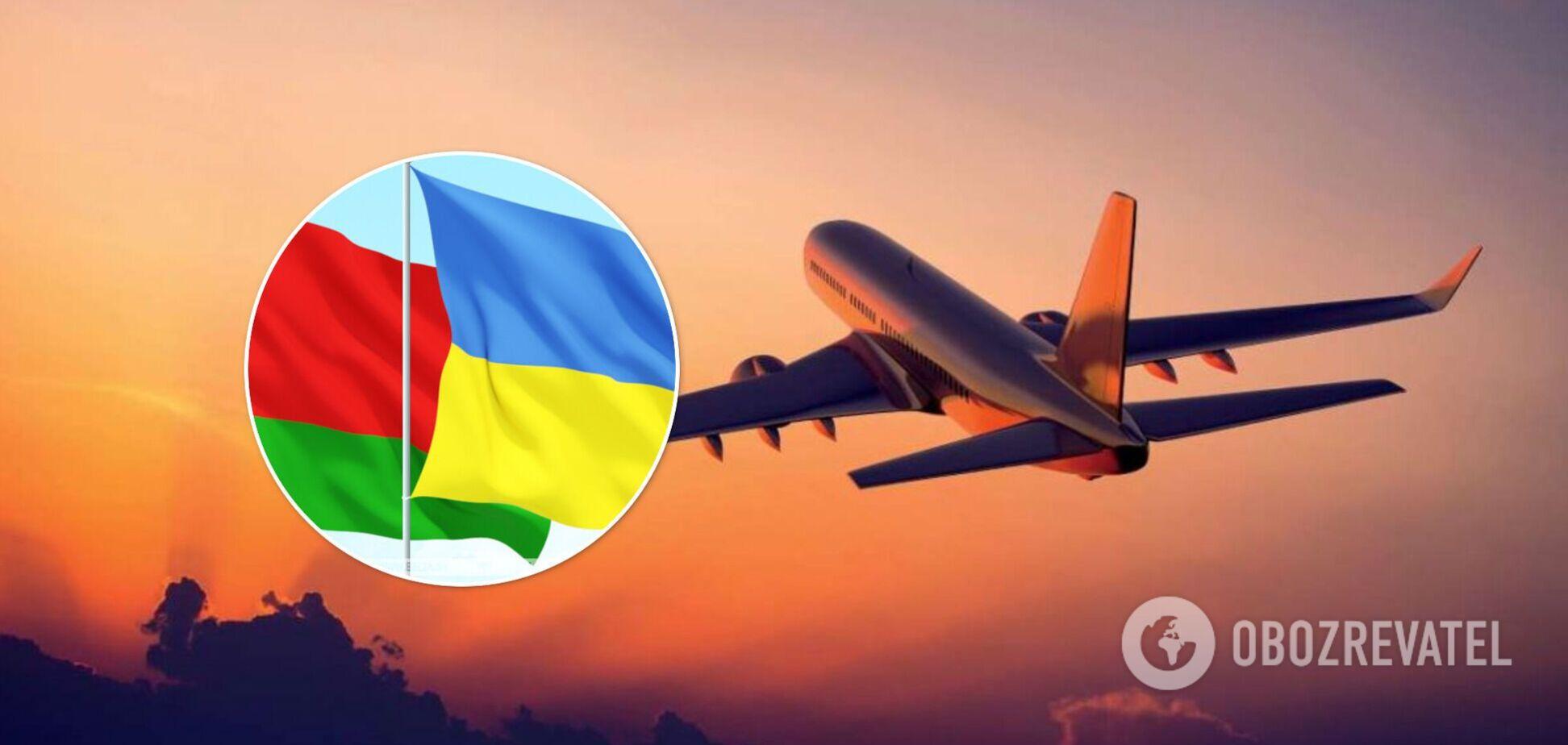Авиасообщение между Украиной и Беларусью прекращается