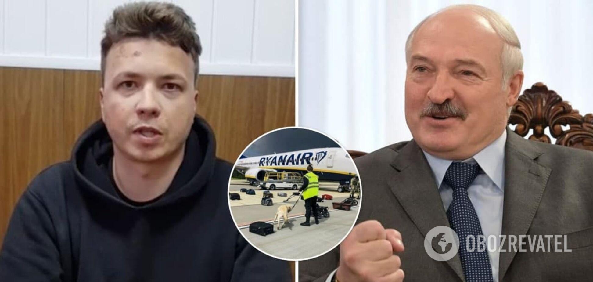 В Беларуси нашли отговорку, почему самолет с Протасевичем посадили в Минске вместо Вильнюса