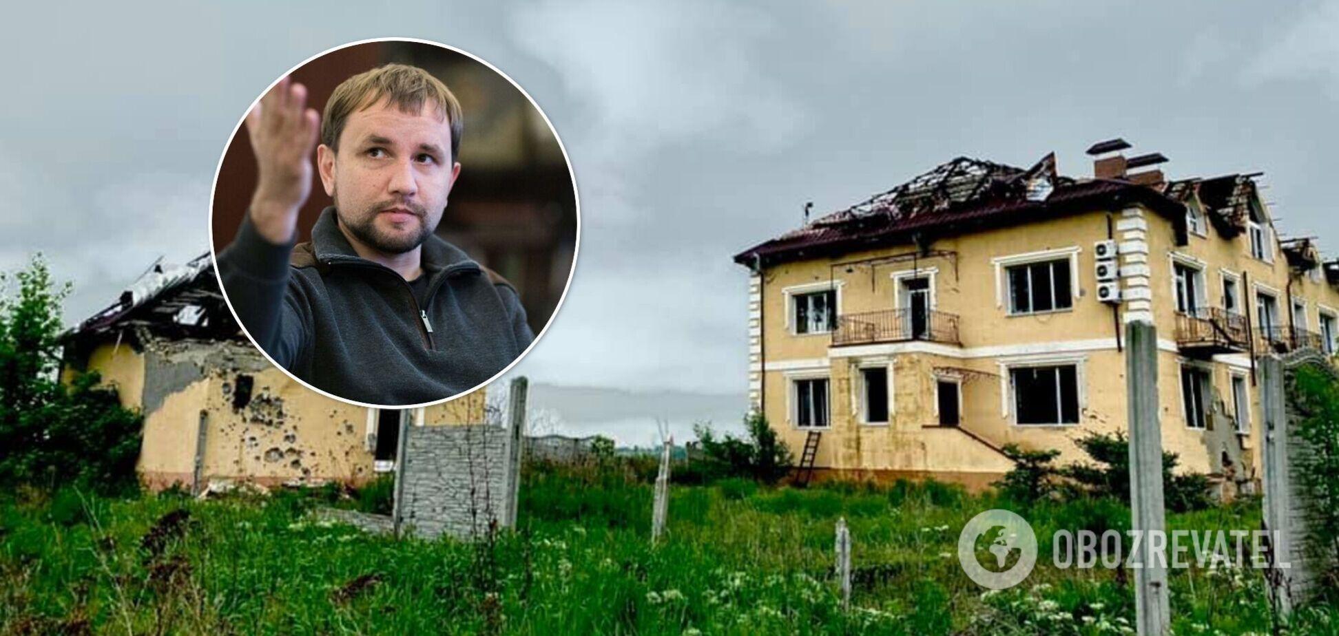Десь на кордоні з війною: В'ятрович відвідав частково окуповане Зайцеве