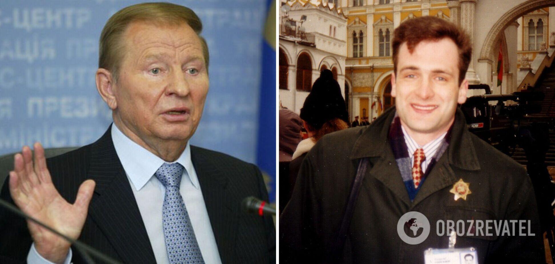 Леонид Кучма и Георгий Гонгадзе