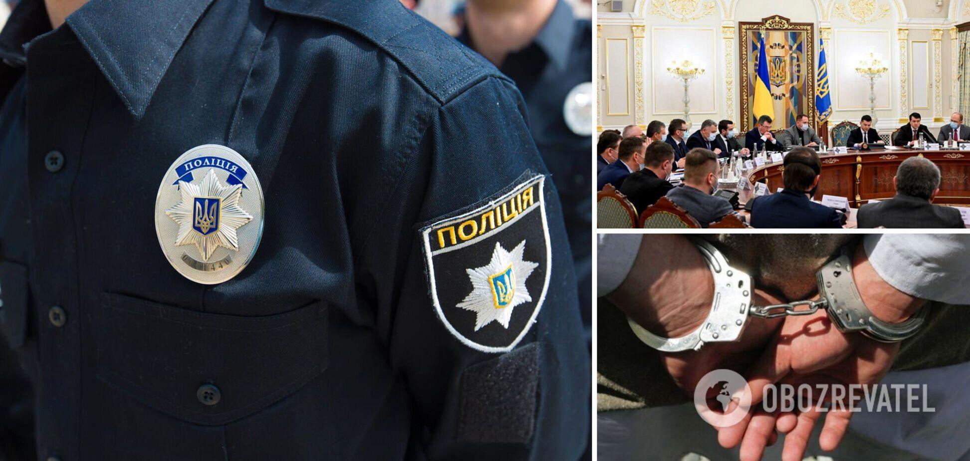 Полиция разоблачила еще трех уголовных авторитетов: двое из них под санкциями СНБО
