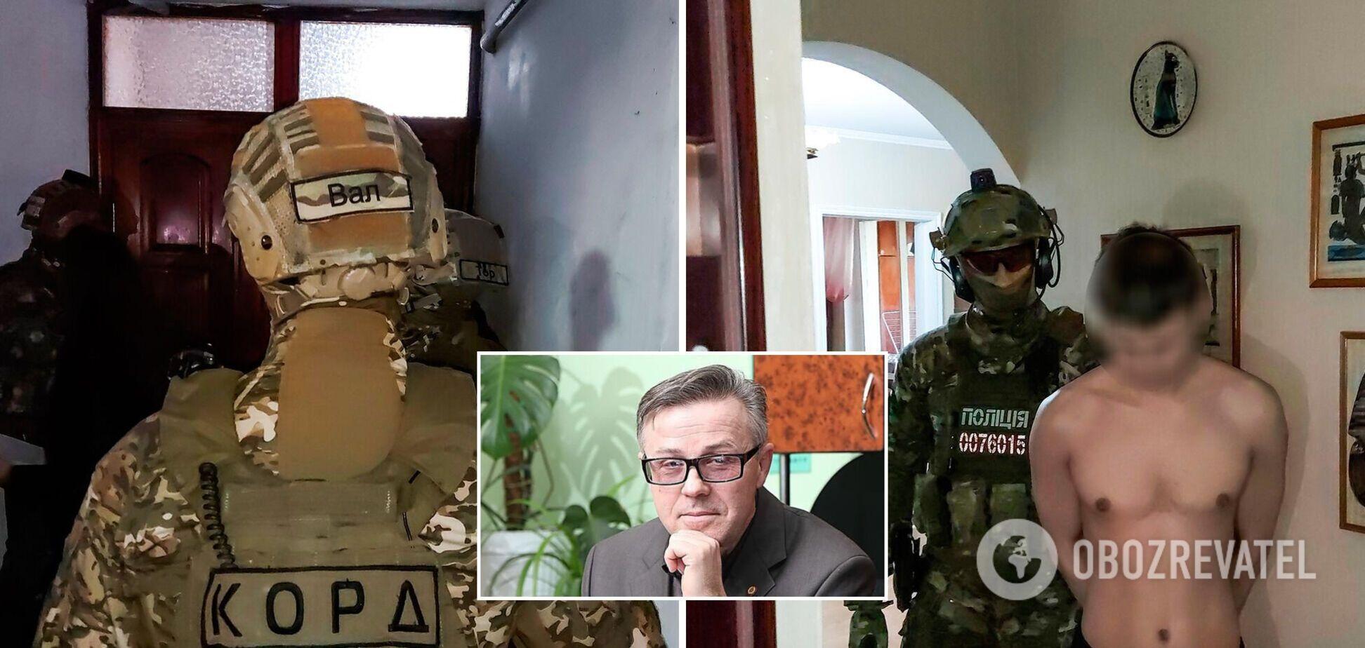 Спецназ задержал подозреваемого в убийстве известного историка в Николаеве. Фото и видео
