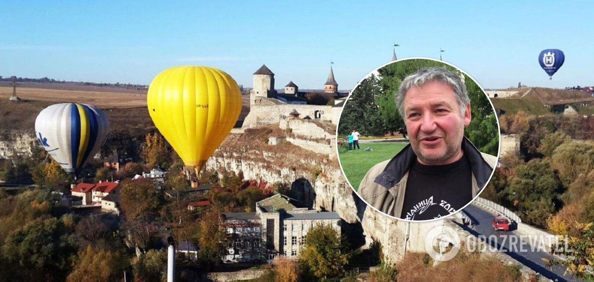 Пілот повітряної кулі, що впала в Кам'янці-Подільському, виявився сином директора Федерації з повітроплавання