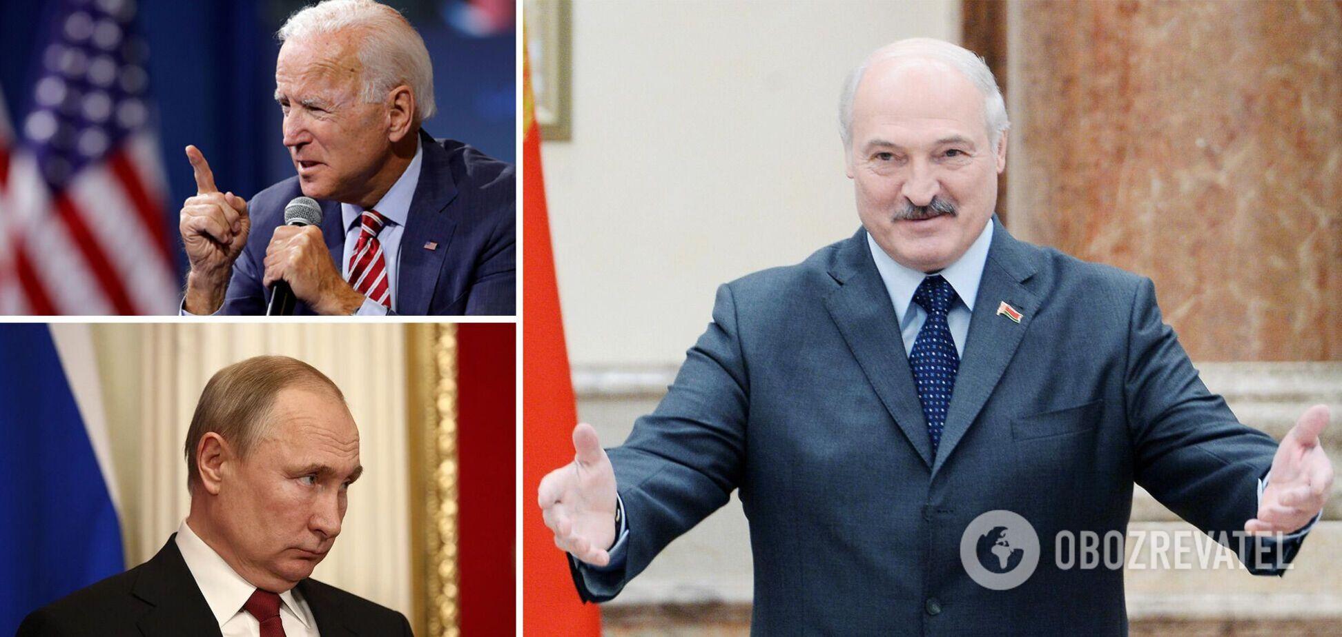 Лукашенко грубо высказался о Байдене, позвав их с Путиным в Минск
