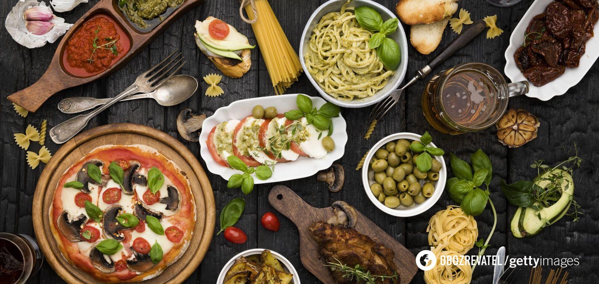 Італійська їжа