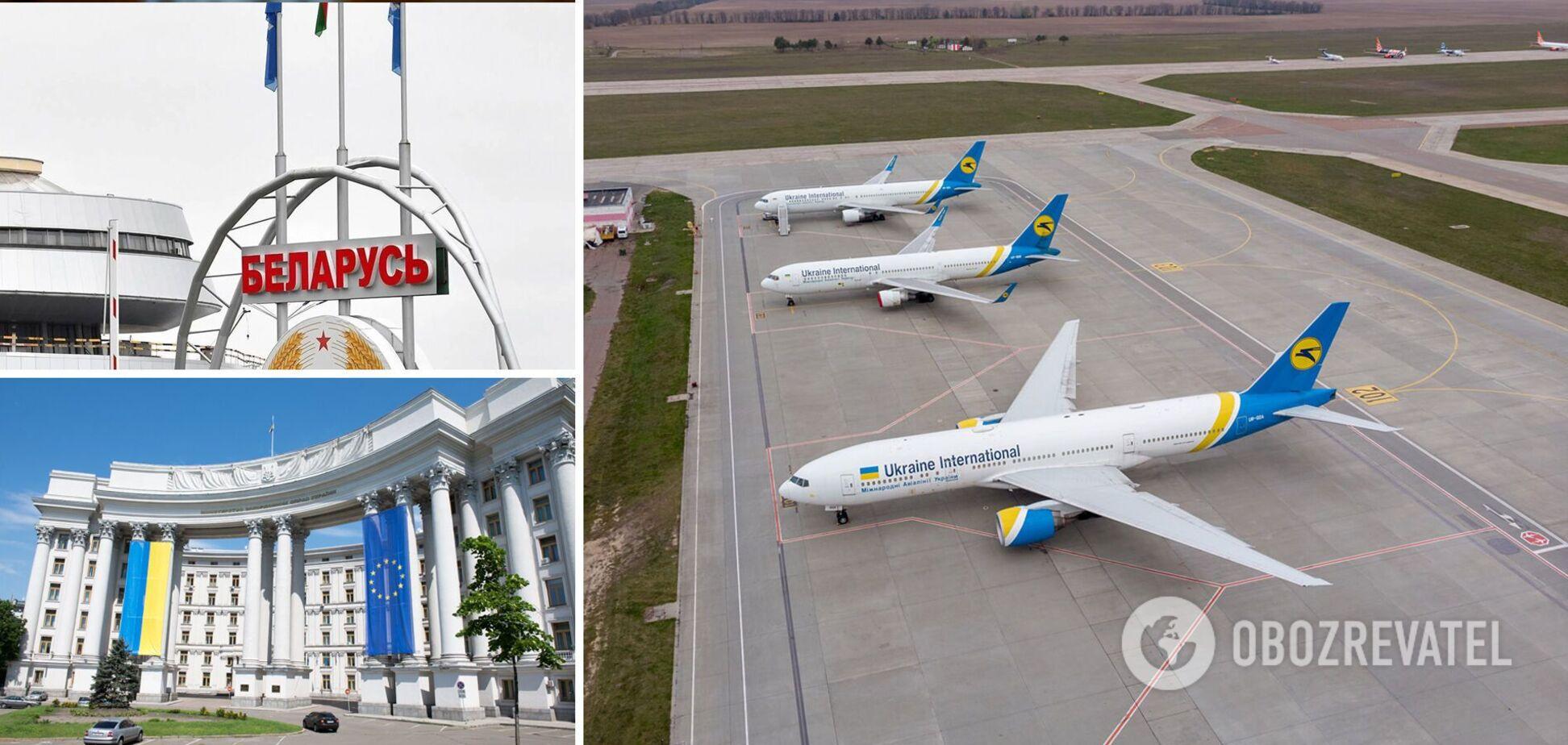 Запрет полетов над Беларусью приведет к небольшому подорожанию билетов