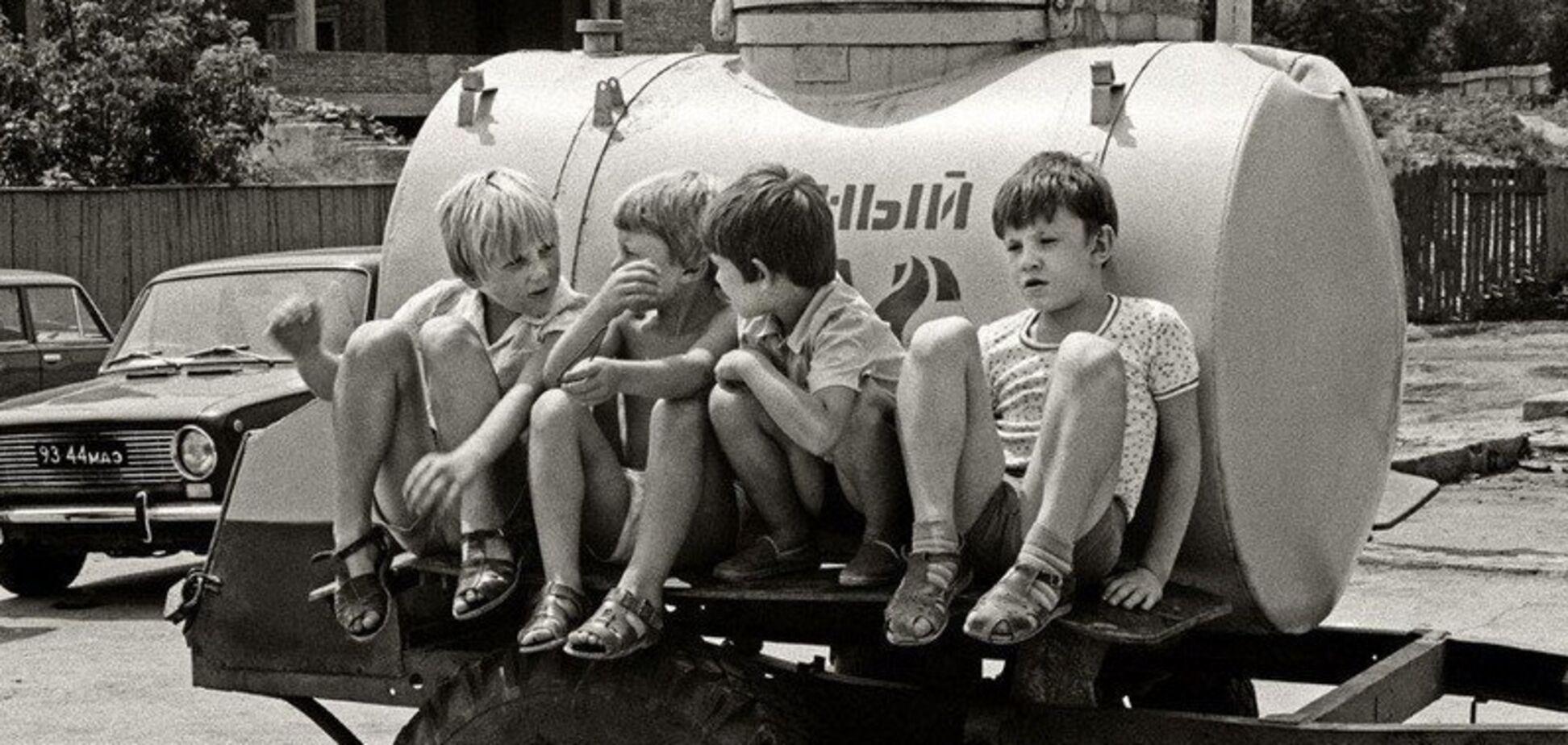 Що пили і їли діти в СРСР