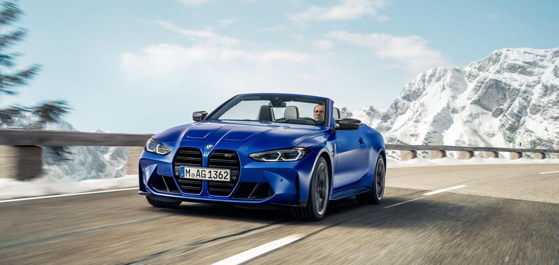 BMW представила полноприводный M4 Competition Convertible