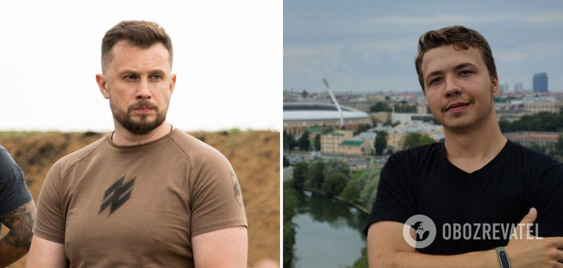 Екскомандир 'Азова' відповів, чи брав Протасевич участь у війні на Донбасі