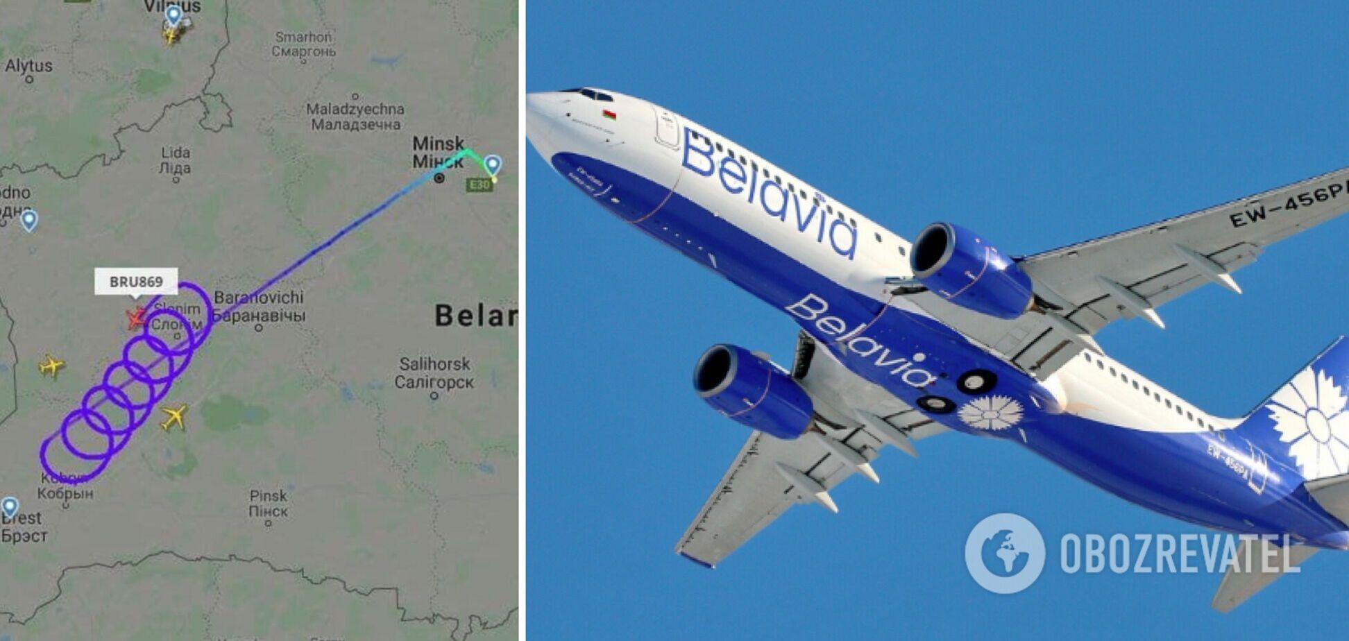 Франция запретила пролет самолету 'Белавиа'