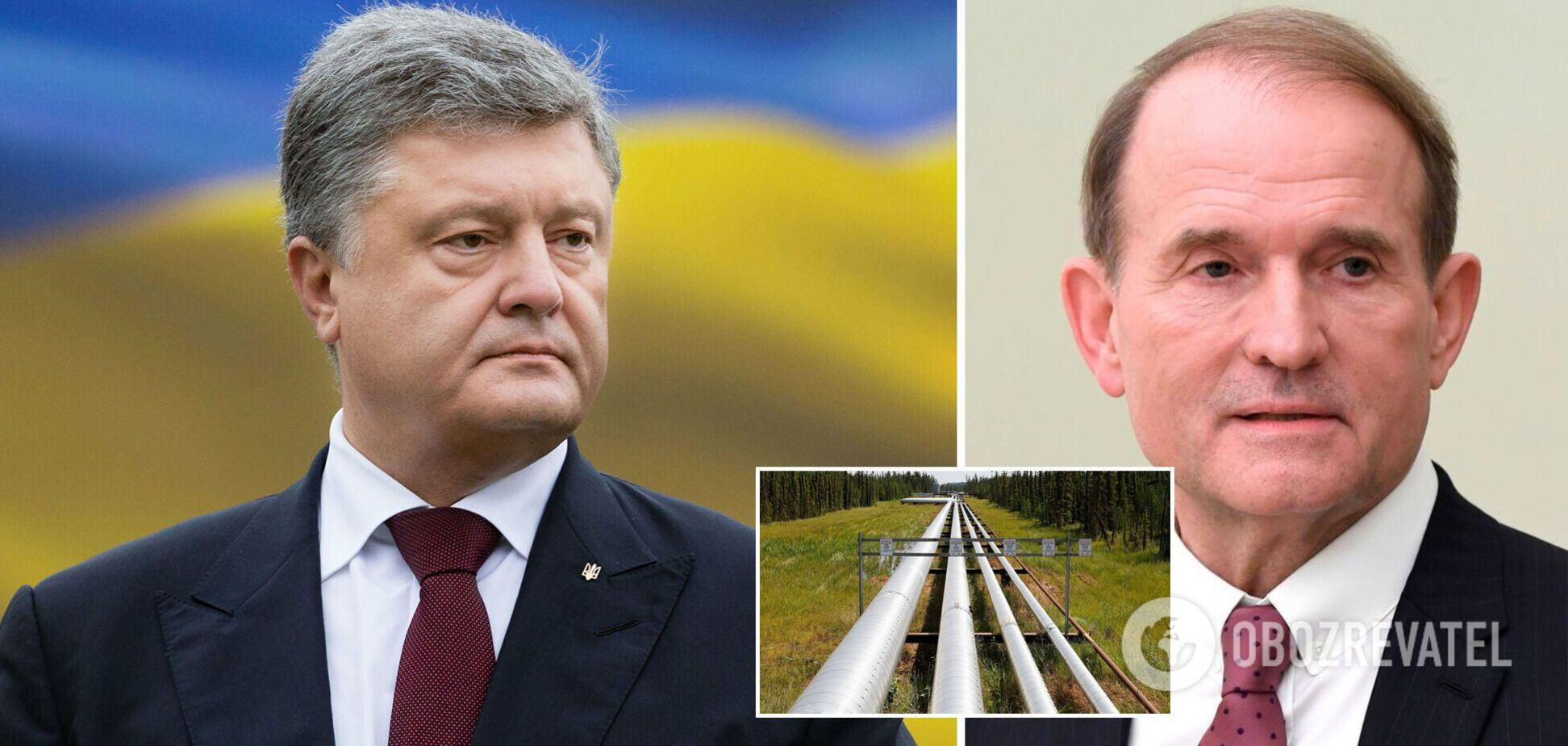 Порошенко подписывал решения о передаче государству 'трубопровода Медведчука', но суд их блокировал, – Турчинов