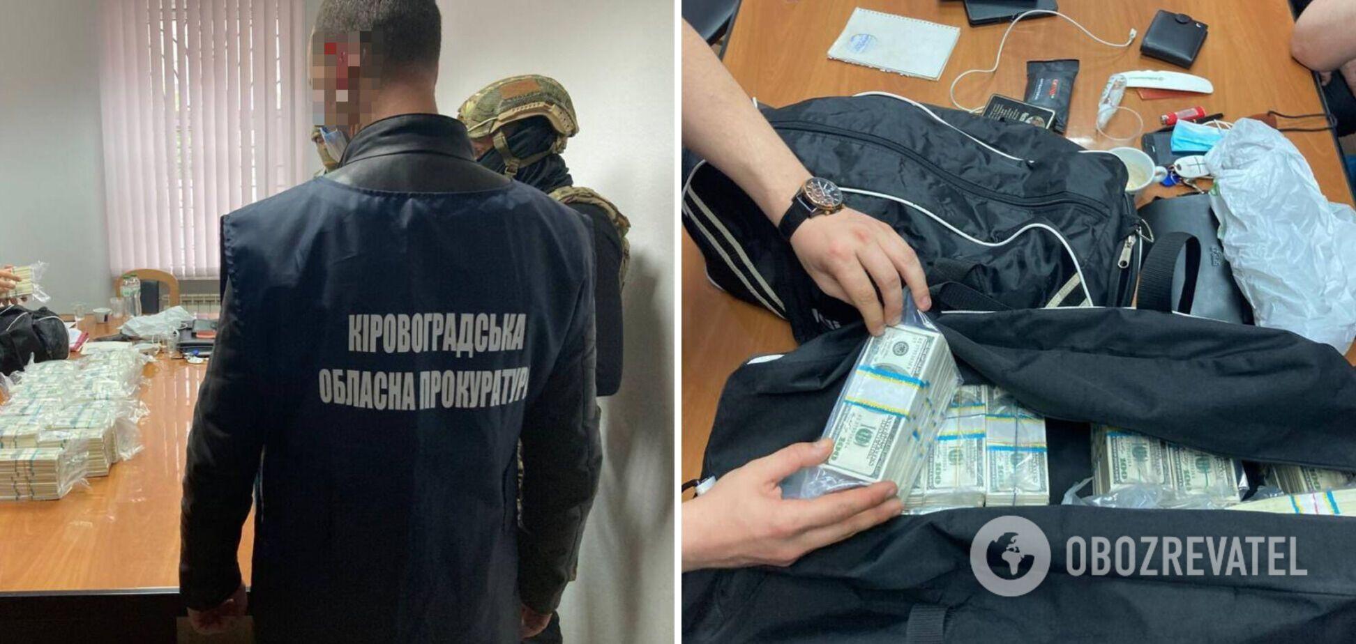 На Кіровоградщині за $3,5 млн обіцяли вплинути на Офіс президента в призначенні голови ОДА. Фото та відео