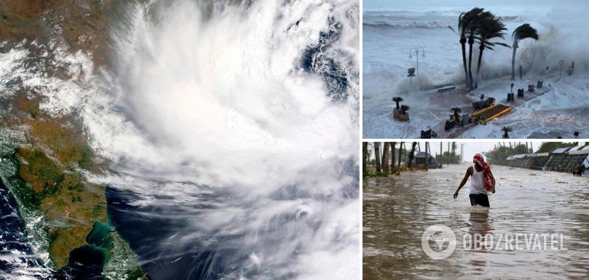 Індію накрив другий смертоносний шторм за тиждень: евакуйовано 1,5 млн людей. Фото та відео