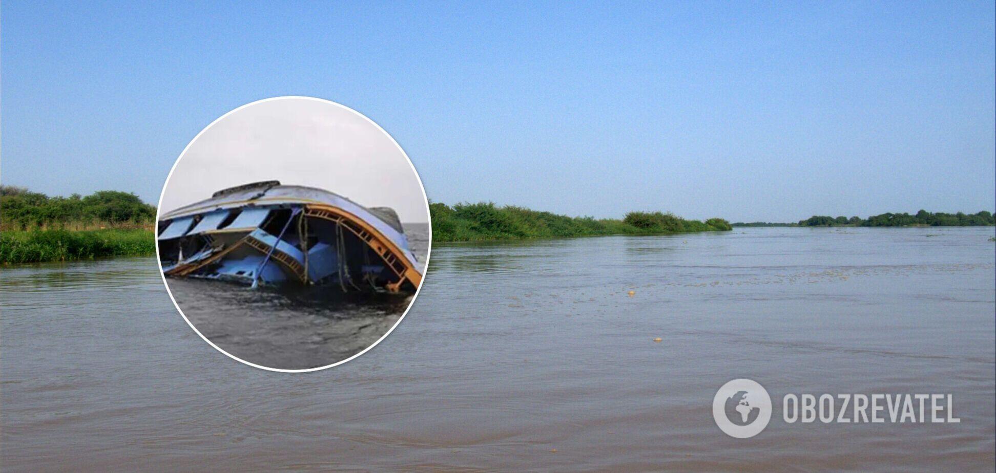 В Нигерии затонуло перегруженное людьми судно: пропали без вести более 140 человек