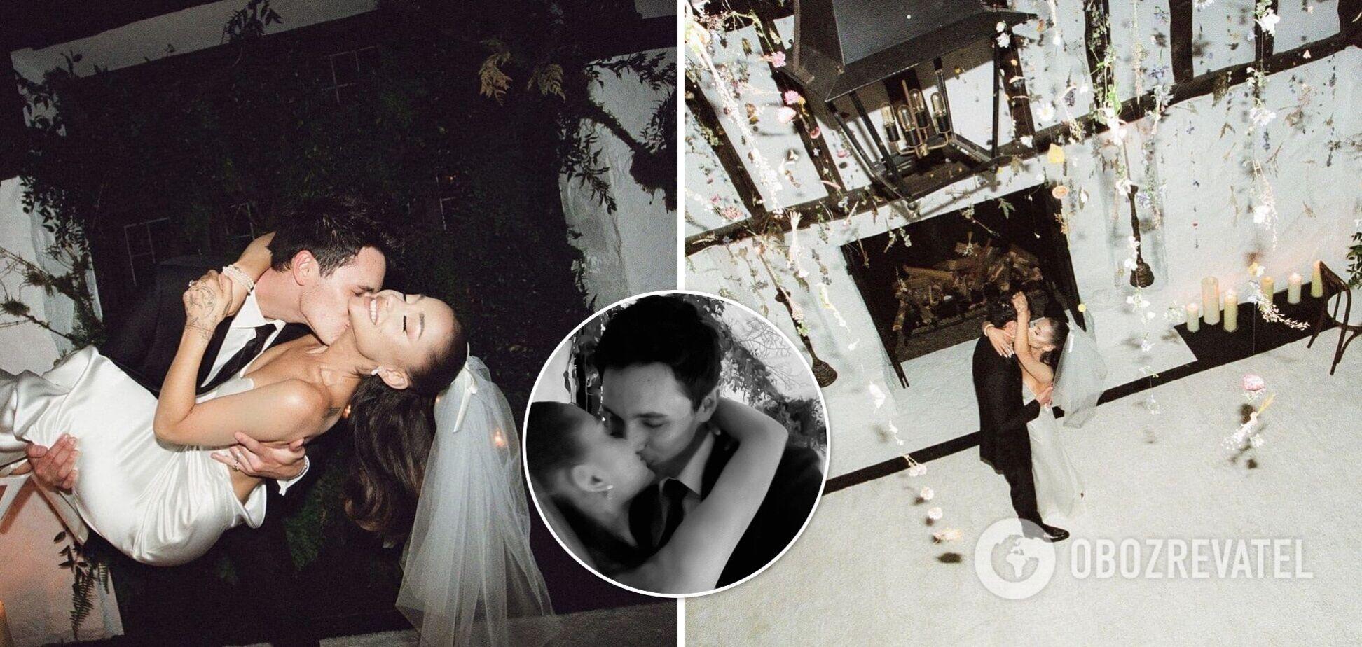 Ариана Гранде показала фото с тайной свадьбы с бойфрендом